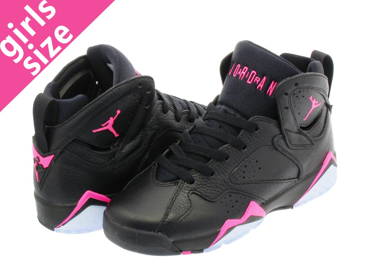 timeless design 107c3 9feb5 NIKE AIR JORDAN 7 RETRO GG Nike Air Jordan 7 GG BLACK/HYPER PINK 442,960-018