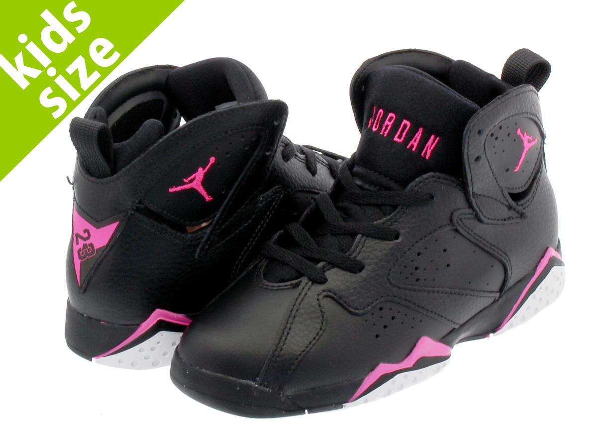 982942f94a0a NIKE AIR JORDAN 7 RETRO BP Nike Air Jordan 7 nostalgic BP BLACK HYPER PINK