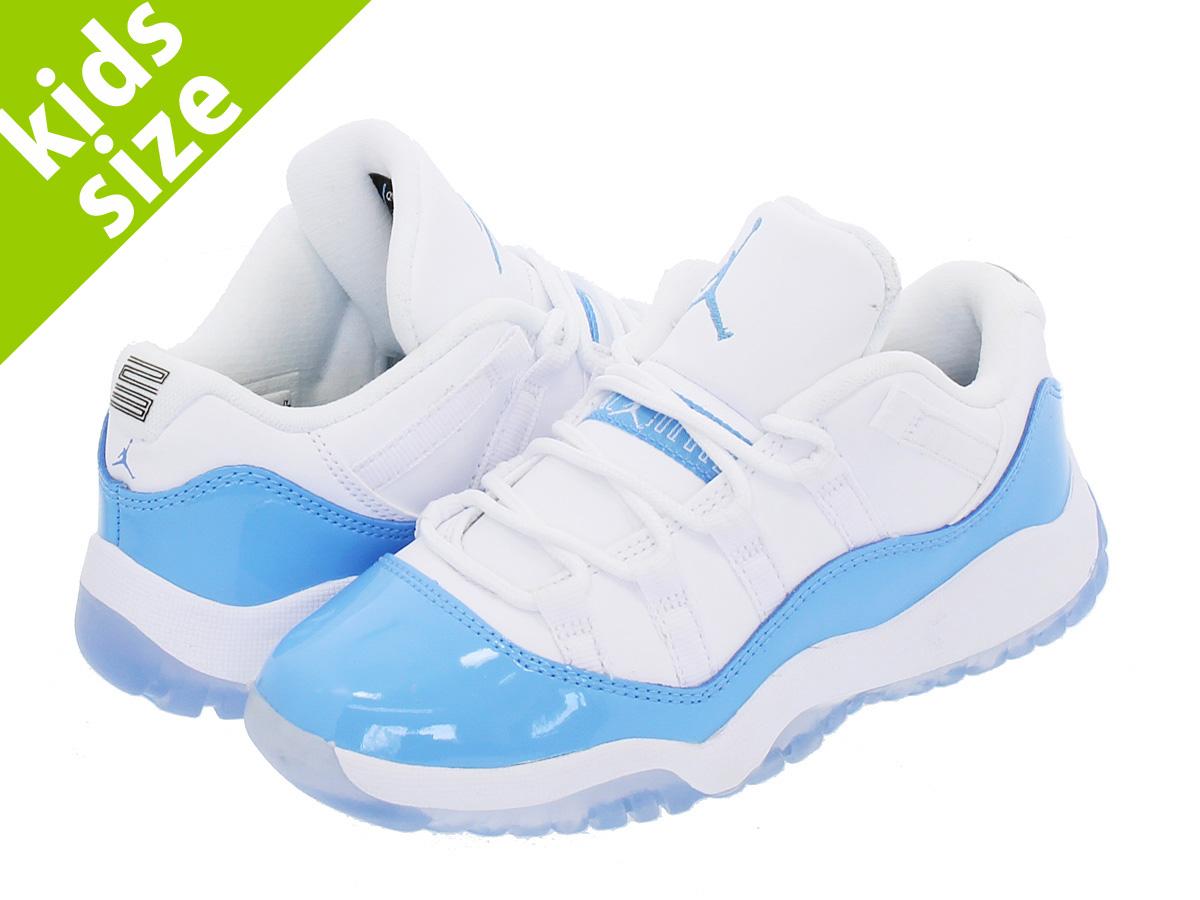 cb695b7658e071 Jordan 11 Retro low BP Little Kids  (PS ) Shoes White  University ...