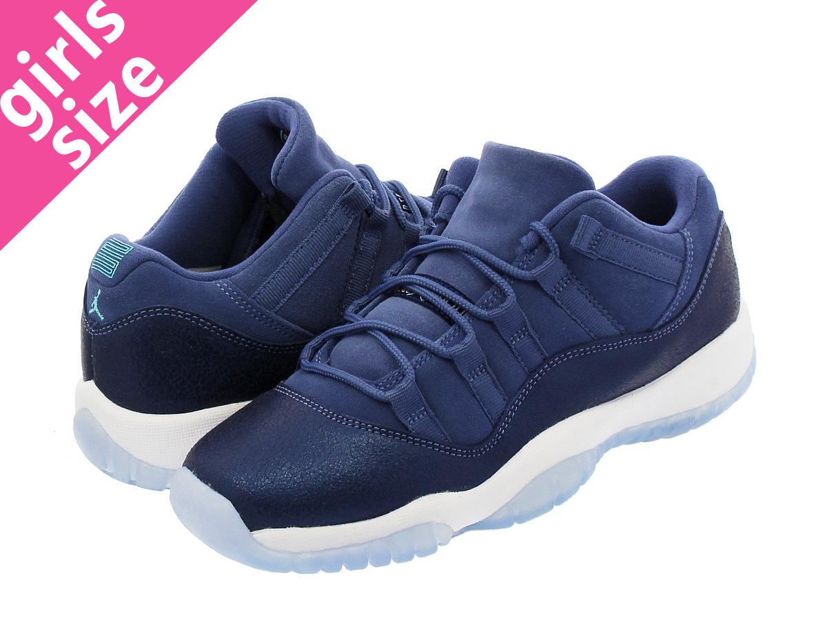 a02127b0ffd NIKE AIR JORDAN 11 RETRO LOW GS Nike Air Jordan 11 nostalgic low GS BLUE  MOON