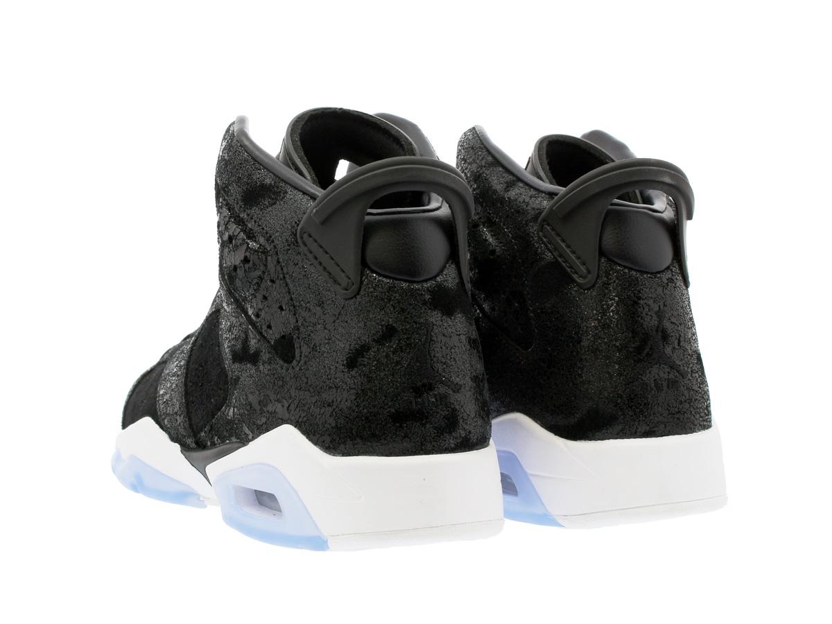 new product 14267 4681b NIKE AIR JORDAN 6 RETRO PREM HC GG Nike Air Jordan 6 nostalgic PREM HC GG  BLACK WHITE GYM RED 881,430-029