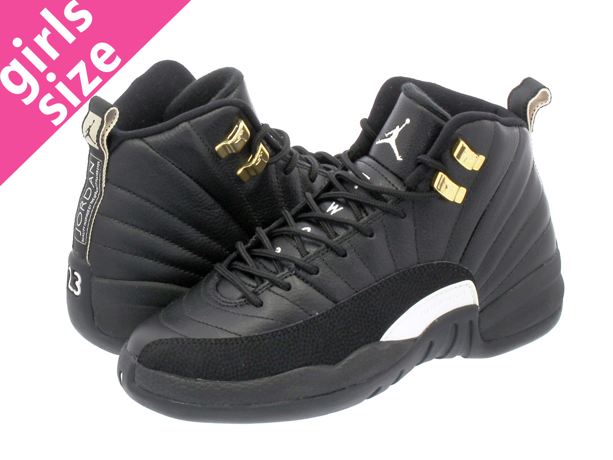 finest selection 83fd0 e02db ... nike air jordan 12 retro gs nike air jordan 12 retro gs black white  metallic gold