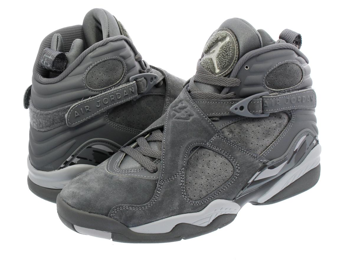 7008a8e75e2584 NIKE AIR JORDAN 8 RETRO Nike Air Jordan 8 nostalgic COOL GREY WOLF GREY COOL  GREY