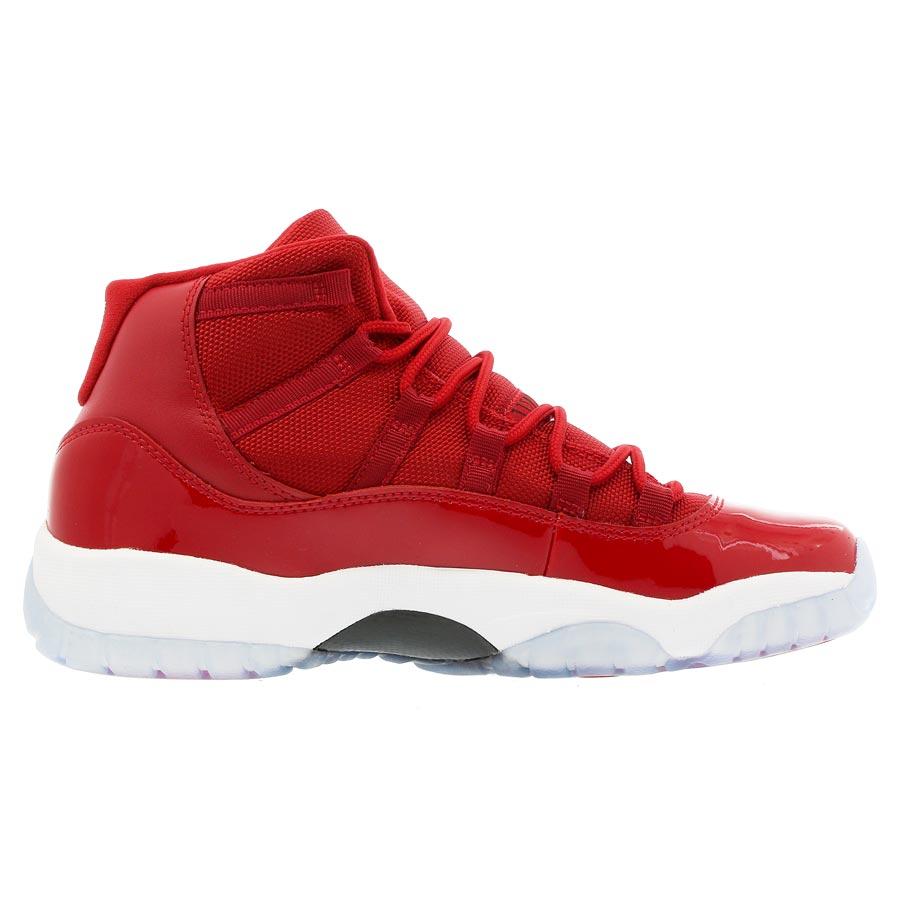 9bc7aaa284d87e NIKE AIR JORDAN 11 RETRO BG Nike Air Jordan 11 nostalgic BG GYM RED WHITE  BLACK