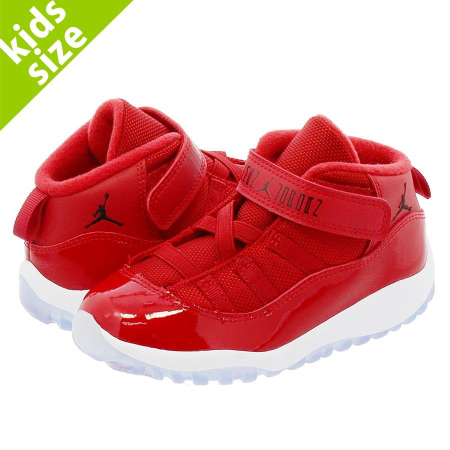 7b52972680e505 NIKE AIR JORDAN 11 RETRO BT Nike Air Jordan 11 nostalgic TD GYM  RED BLACK WHITE
