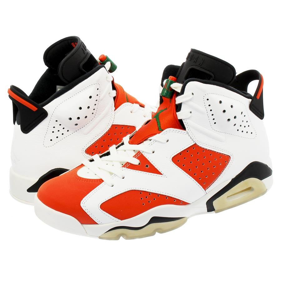 5b4f67d7d41a NIKE AIR JORDAN 6 RETRO Nike Air Jordan 6 nostalgic SUMMIT WHITE TEAM ORANGE  BLACK