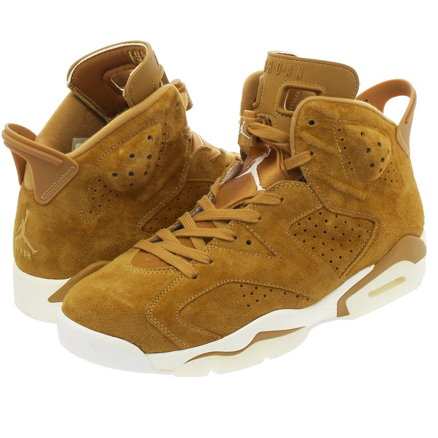 da0832329b3958 NIKE AIR JORDAN 6 RETRO Nike Air Jordan 6 nostalgic GOLDEN HARVEST SAIL GOLDEN  HARVEST
