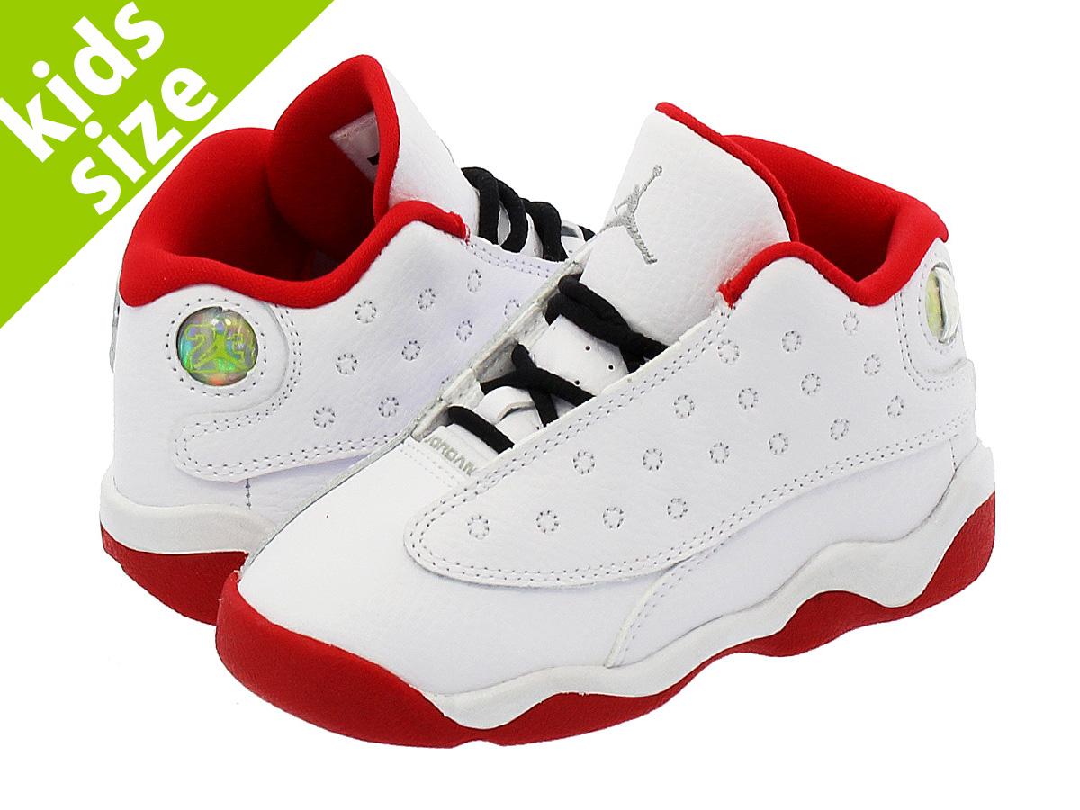 66136a1fe3f3 NIKE AIR JORDAN 13 RETRO BT Nike Air Jordan 13 nostalgic BT  WHITE UNIVERSITY RED METALLIC SILVER