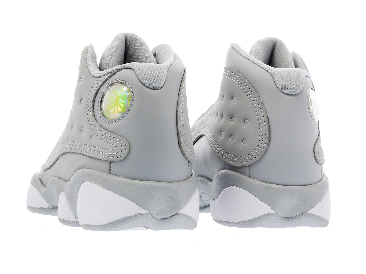 e3c6b4e24335 NIKE AIR JORDAN 13 RETRO GP Nike Air Jordan 13 nostalgic GP WOLF GREY DEADLY  PINK WHITE WHITE