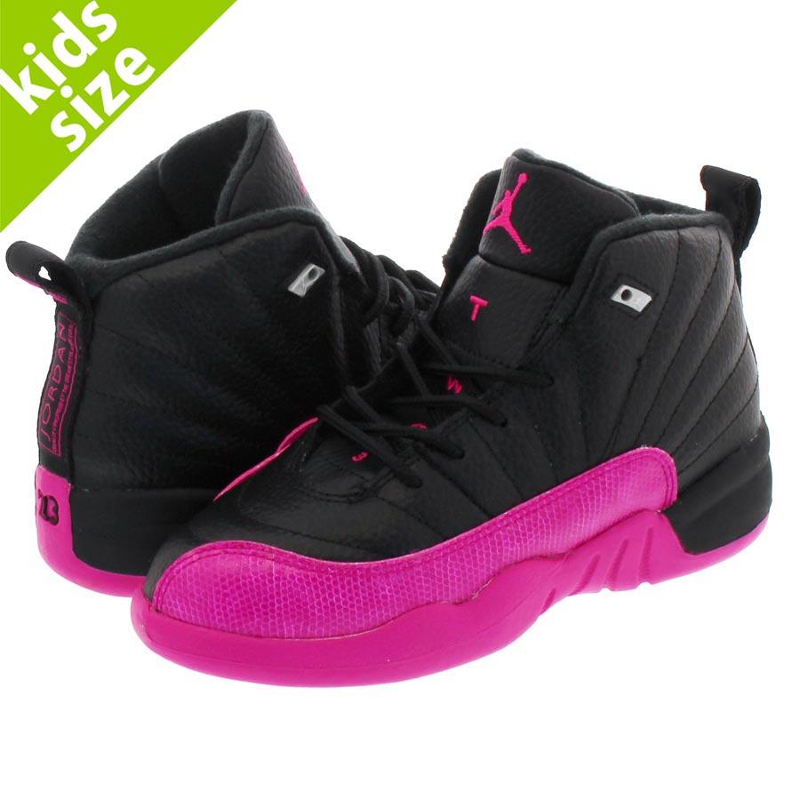 separation shoes 2d819 be36b NIKE AIR JORDAN 12 RETRO GP Nike Air Jordan 12 nostalgic GP BLACK/DEADLY  PINK