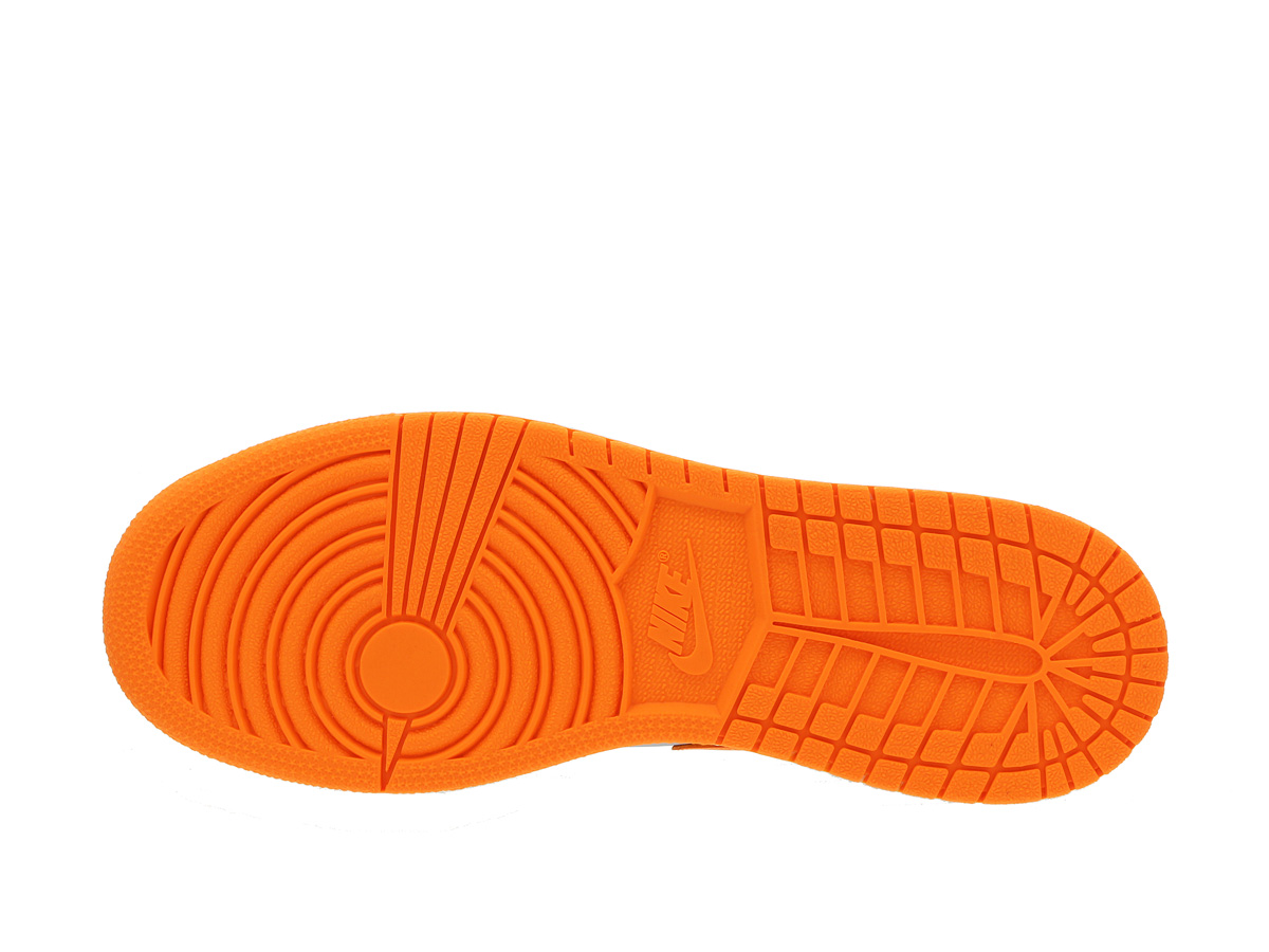 4cbc10676870 NIKE AIR JORDAN 1 MID BG Nike Air Jordan 1 mid BG WOLF GREY BRIGHT CITRUS  WHITE