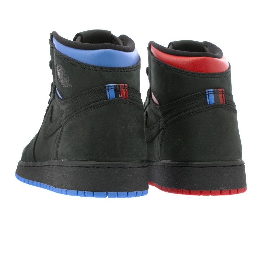 low priced 4fba8 934d8 NIKE AIR JORDAN 1 RETRO HIGH OG Q54 BG Nike Air Jordan 1 nostalgic high OG  Q54 BG BLACK BLUE RED