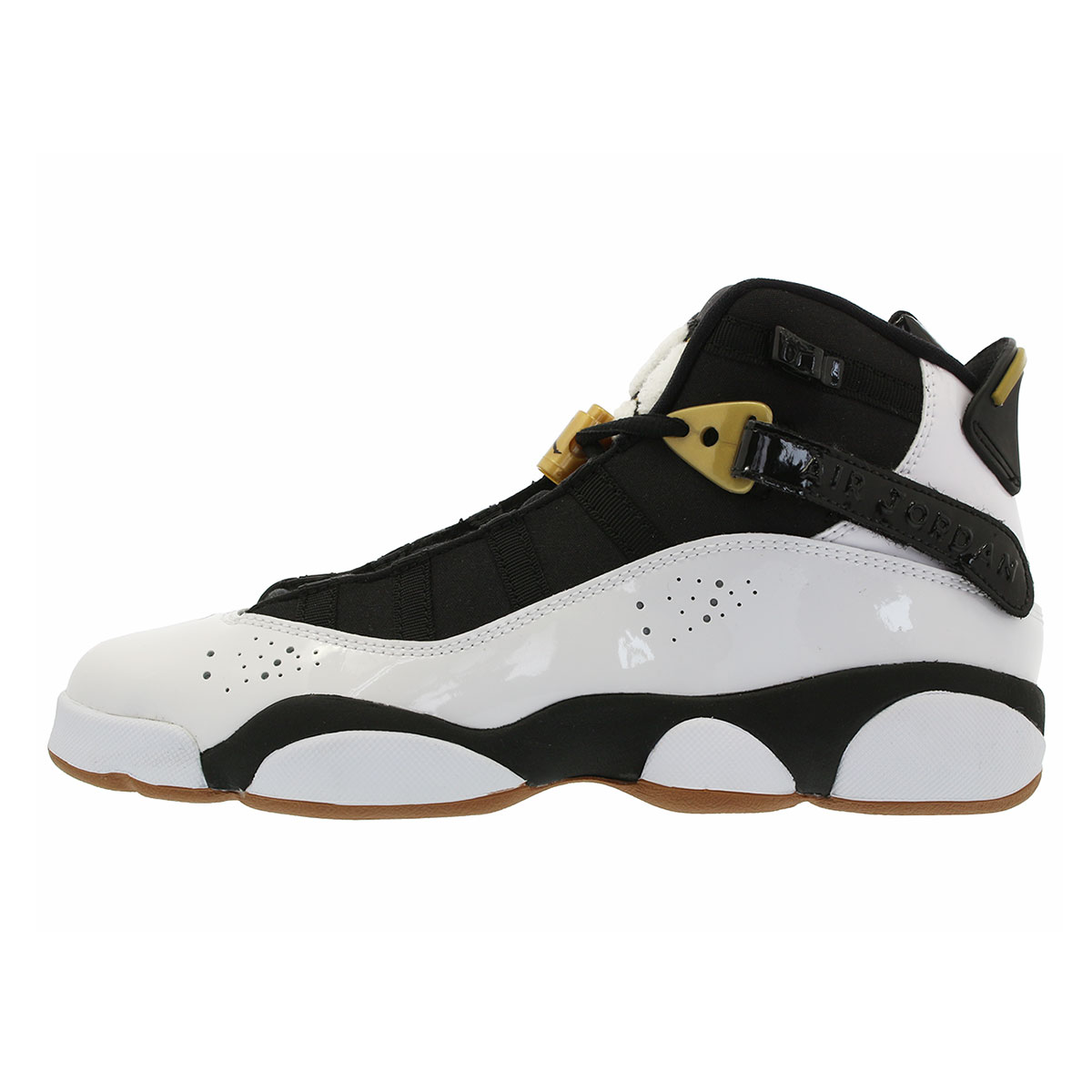 NIKE AIR JORDAN 6 RINGS GG Nike Air Jordan 6 RINGS Co.,Ltd. GG WHITE/BLACK/GOLD/BROWN