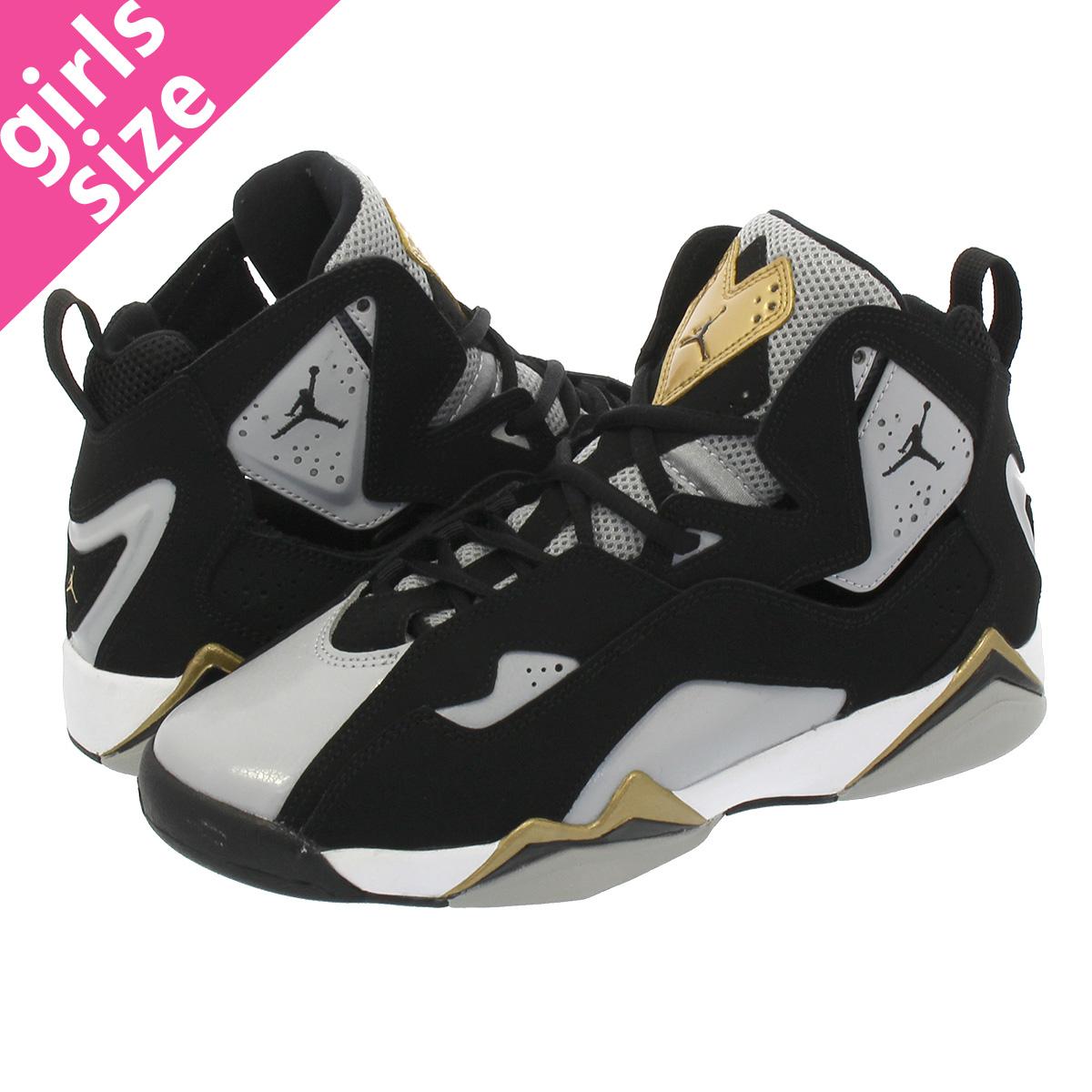 NIKE JORDAN TRUE FLIGHT GS Nike Jordan toe roof light GS BLACK BLACK WOLF  GREY WHITE fc0563918