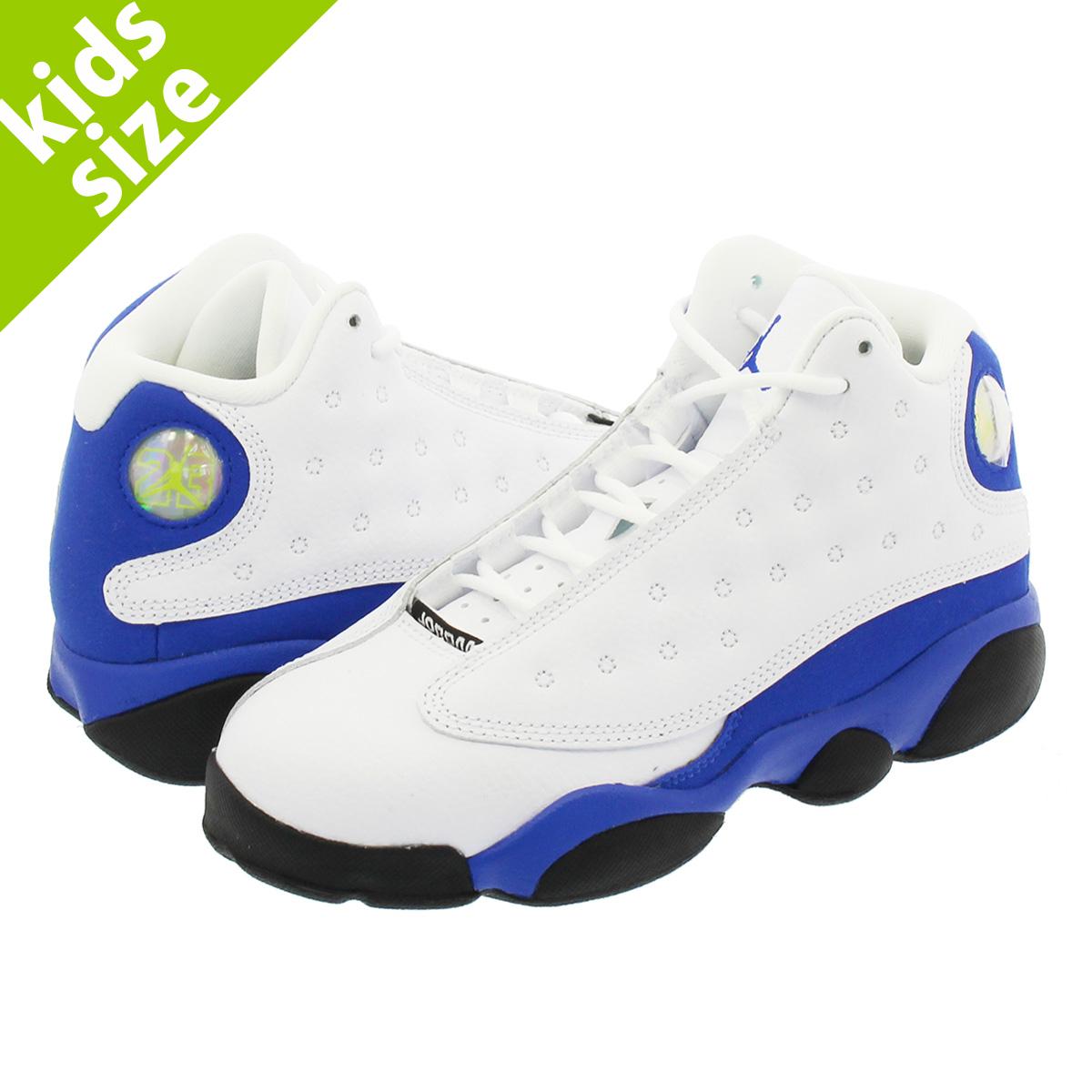 sneakers for cheap 0fb26 7d7ce NIKE AIR JORDAN 13 RETRO BP Nike Air Jordan 13 nostalgic BP WHITE/HYPER  ROYAL/BLACK 414,575-117