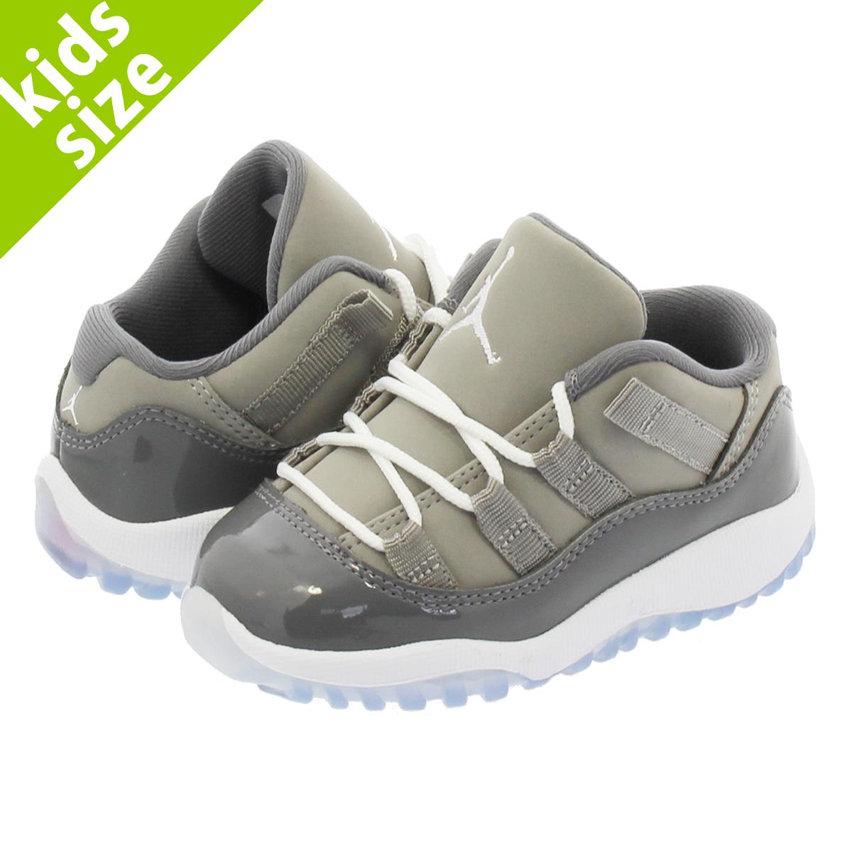 ce588d7ece33 NIKE AIR JORDAN 11 RETRO LOW BT Nike Air Jordan 11 nostalgic low BT MEDIUM  GREY GUMSMOKE WHITE 505