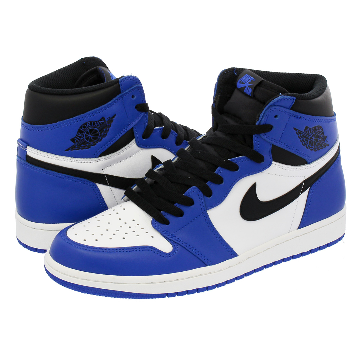 335df7b1ff2a NIKE AIR JORDAN 1 RETRO HIGH OG Nike Air Jordan 1 nostalgic high OG GAME  ROYAL SUMMIT WHITE BLACK