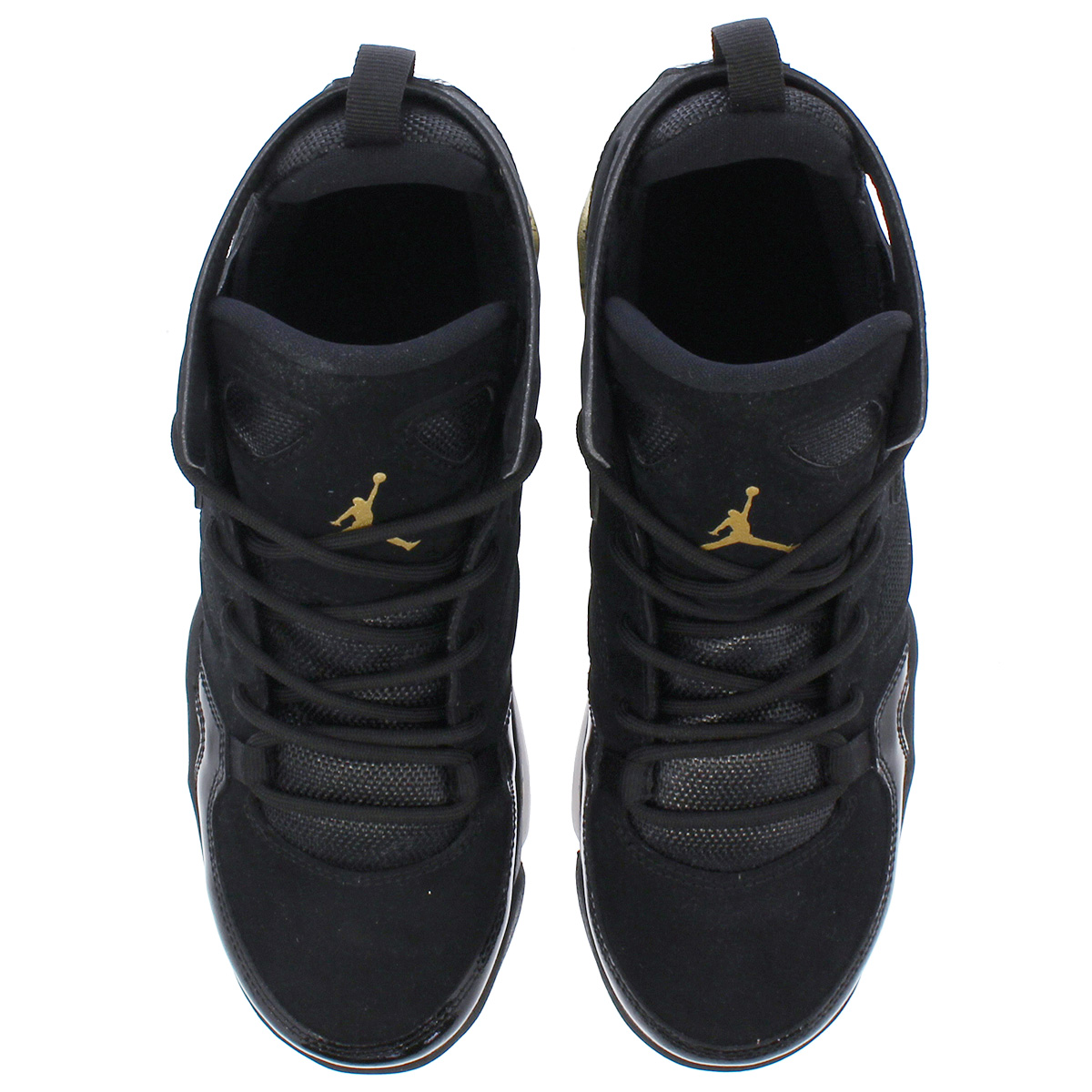 d8e79d72bf57d8 NIKE JORDAN FLIGHT CLUB 91 GS Nike Jordan flight club 91 GS BLACK GOLD WHITE  555
