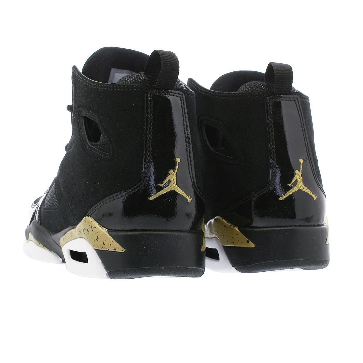 37c13b9453e77f NIKE JORDAN FLIGHT CLUB 91 GS Nike Jordan flight club 91 GS BLACK GOLD WHITE  555