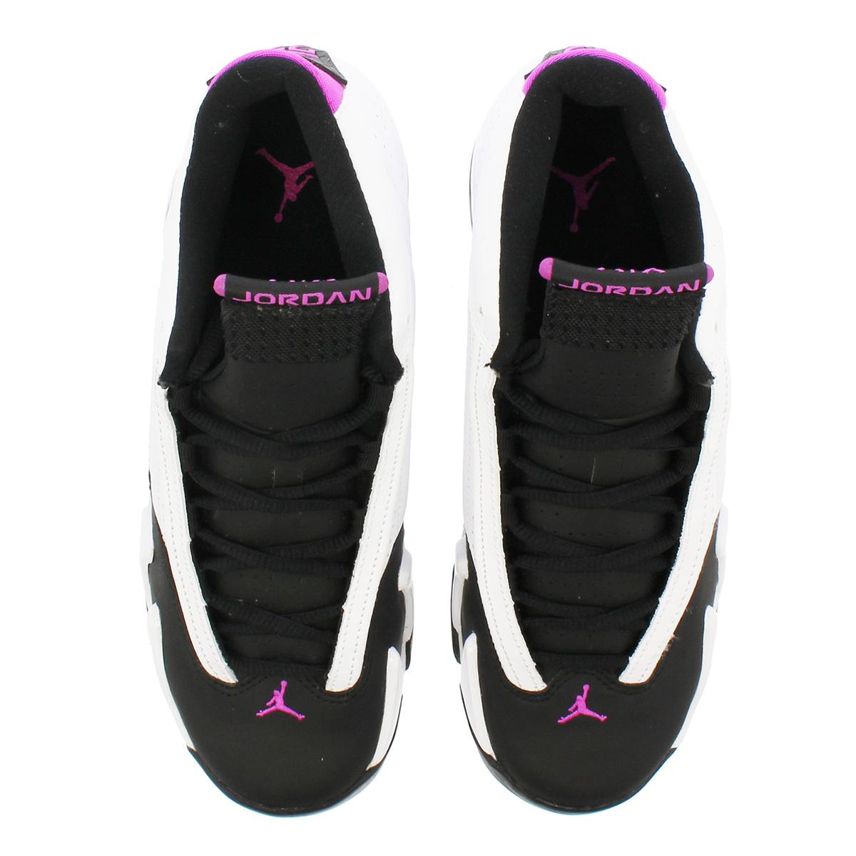 the latest 4f948 6a221 NIKE AIR JORDAN 14 RETRO GS Nike Air Jordan 14 nostalgic GS WHITE/FUCHSIA  FLASH/BLACK 654,969-119