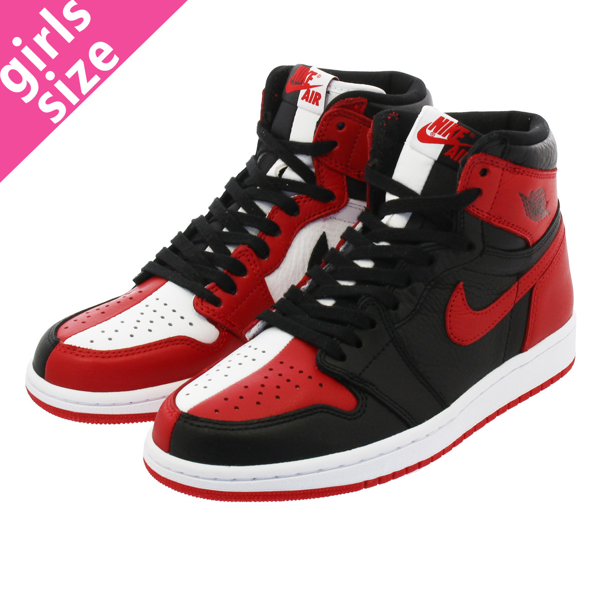 super popular ab91e 97996 NIKE AIR JORDAN 1 RETRO HIGH OG Nike Air Jordan 1 nostalgic high OG BLACK   ...