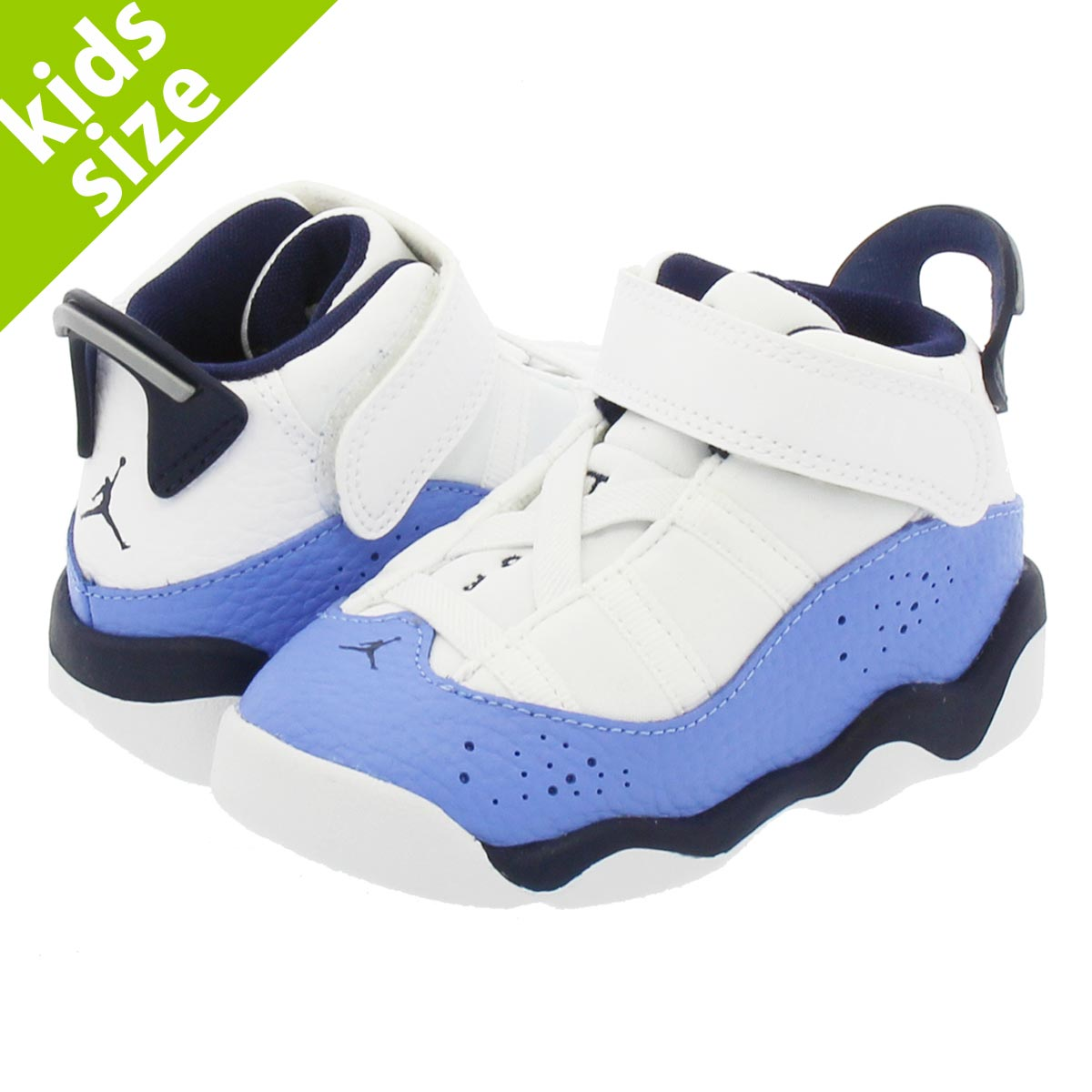 new style 20925 7f11f NIKE JORDAN 6 RINGS GT Nike Air Jordan 6 RINGS Co.,Ltd. GT WHITE/MIDNIGHT  NAVY/ROYAL BLUE