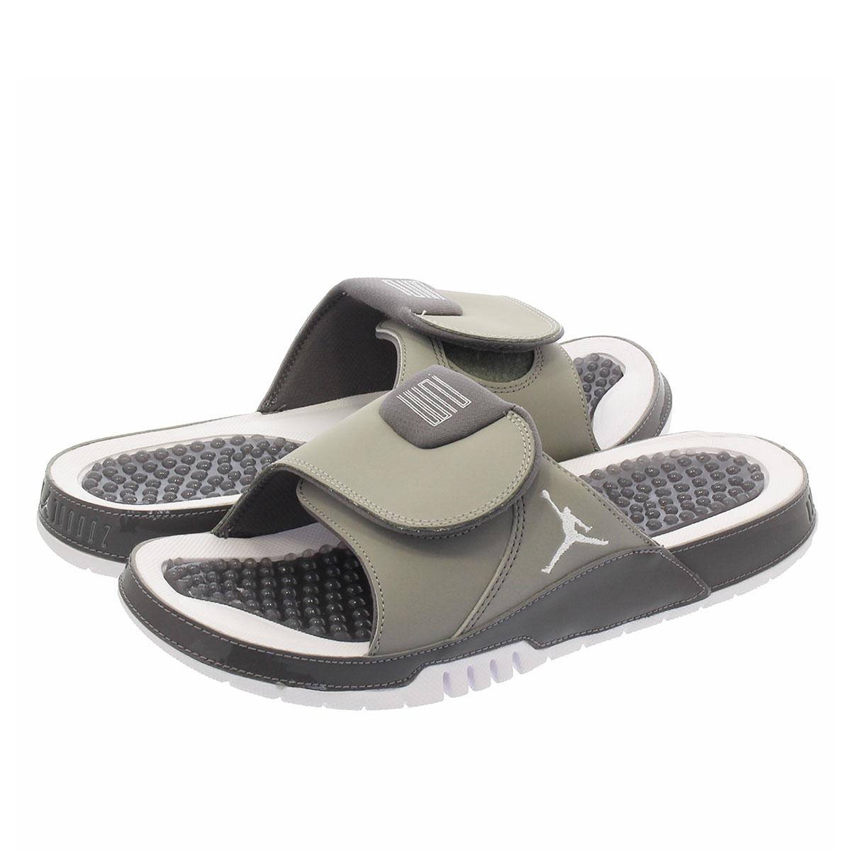 e45e309c8ab816 NIKE JORDAN HYDRO XI RETRO Nike Jordan high mud 11 nostalgic MEDIUM  GREY WHITE GUNSMOKE