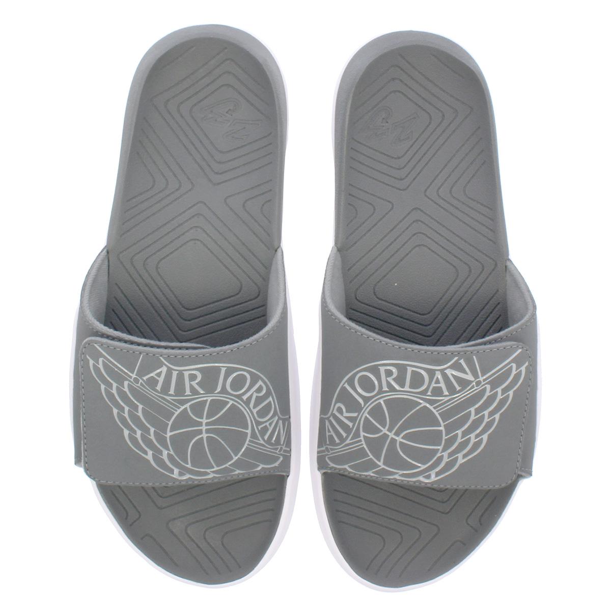 735049ce6631 NIKE JORDAN HYDRO 7 Nike Jordan high mud 7 SMOKE GREY PARTICLE GREY WHITE  aa2517-002