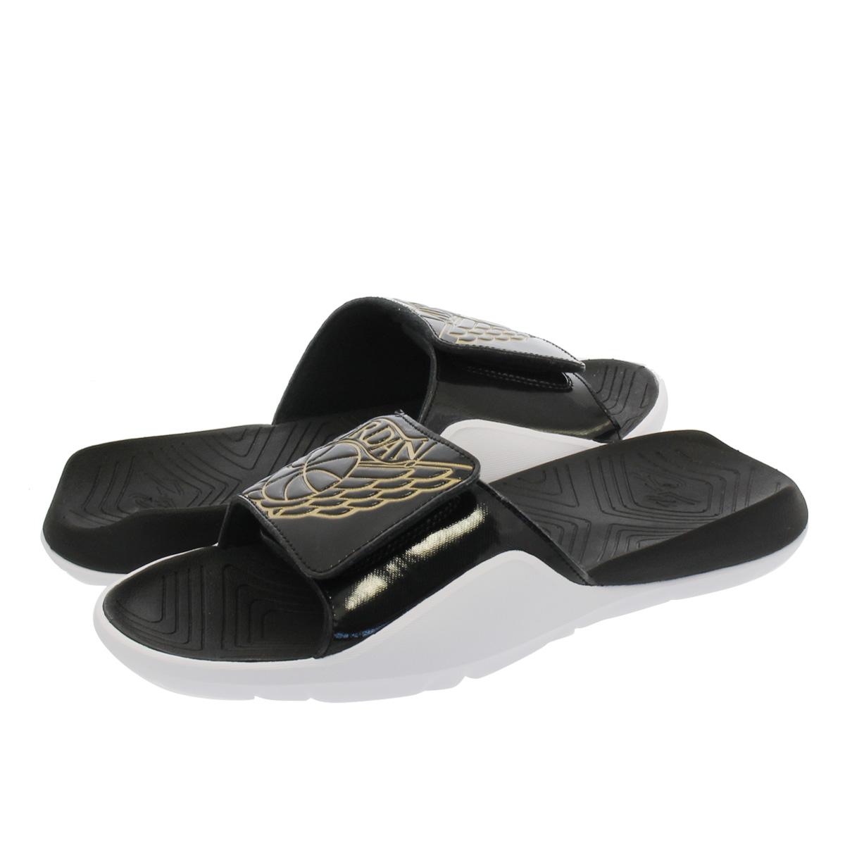 new concept e47b3 9f328 NIKE JORDAN HYDRO 7 Nike Jordan high mud 7 BLACK/BLACK GOLD/WHITE aa2517-021