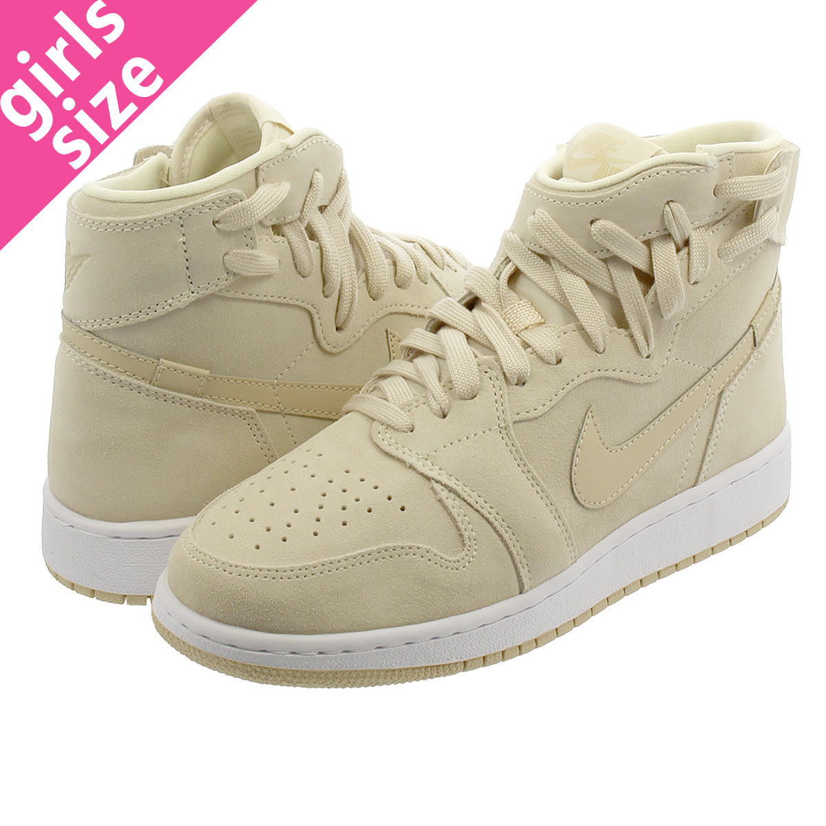 c4d613004097 NIKE WMNS AIR JORDAN 1 REBEL XX Nike women Air Jordan 1 level XX LIGHT CREAM DESERT  ORE WHITE ar5599-201-l