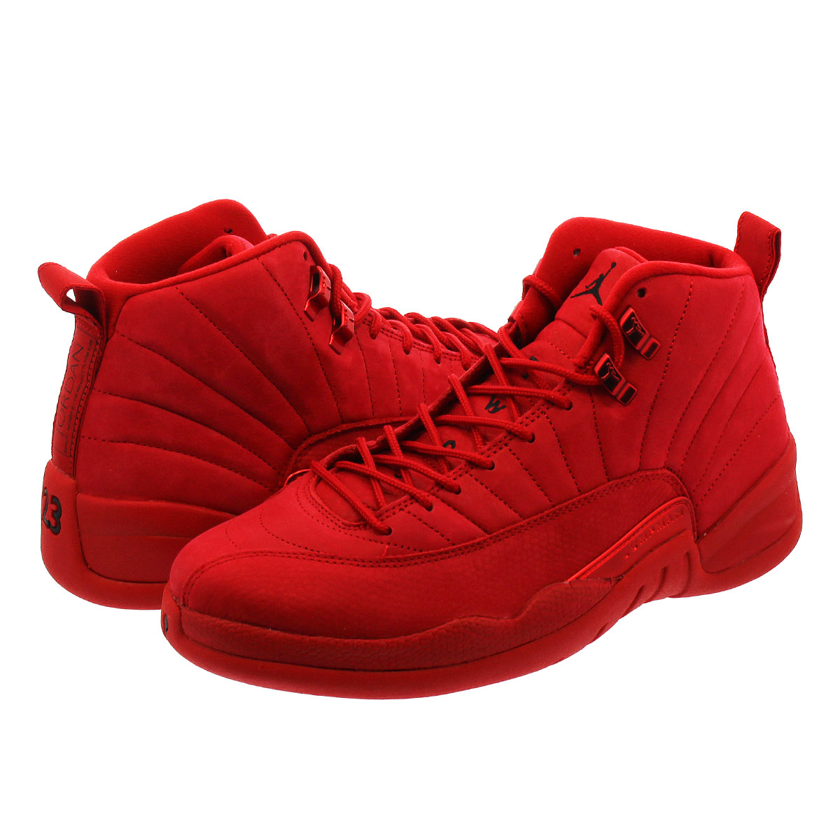 d2a564412972 NIKE AIR JORDAN 12 RETRO Nike Air Jordan 12 nostalgic GYM RED BLACK  130