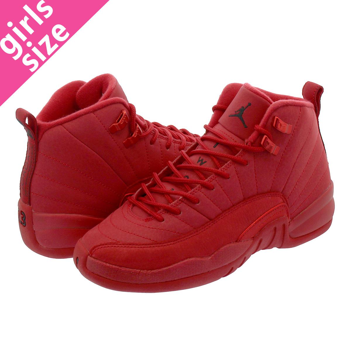 aed315c67285 LOWTEX BIG-SMALL SHOP  NIKE AIR JORDAN 12 RETRO GS Nike Air Jordan 12  nostalgic GS GYM RED BLACK 153