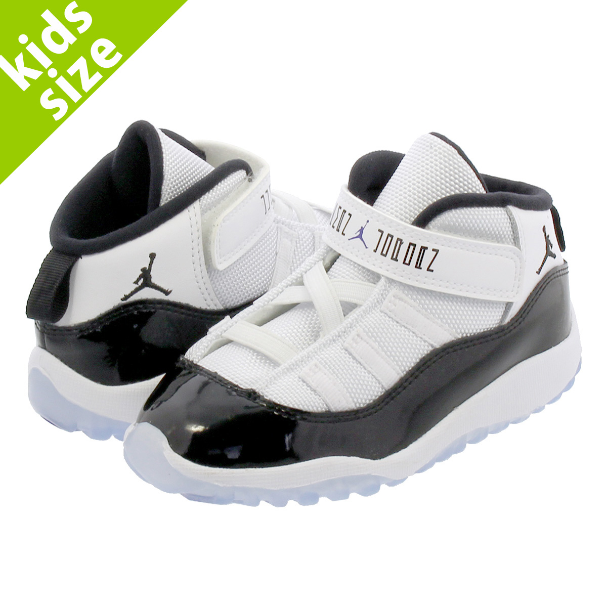 【ベビーサイズ】【8.0~16.0cm】 NIKE AIR JORDAN 11 RETRO BT【CONCORD】 ナイキ エア ジョーダン 11 レトロ BT WHITE/CONCORD/BLACK 378040-100