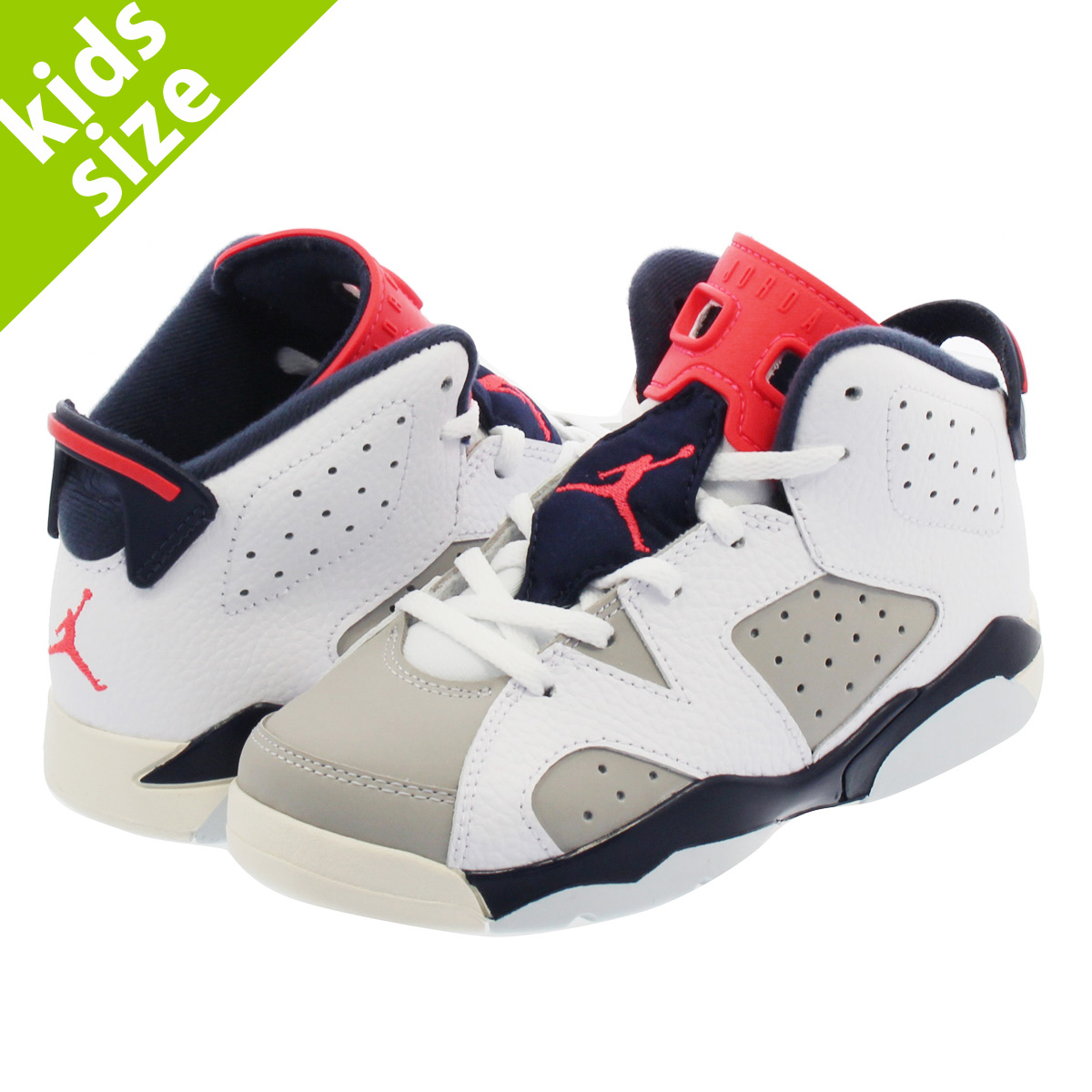 df3c7623f70 NIKE AIR JORDAN 6 RETRO BP Nike Air Jordan 6 nostalgic BP WHITE/INFRARED 23  ...