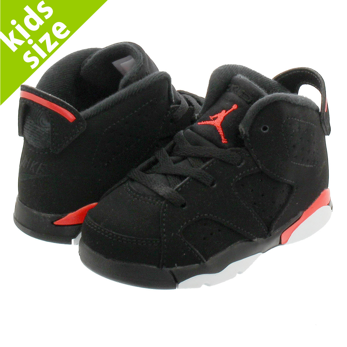 c230dd68d37 LOWTEX BIG-SMALL SHOP: NIKE AIR JORDAN 6 RETRO BT Nike Air Jordan 6  nostalgic BT BLACK/INFRARED 384,667-060   Rakuten Global Market