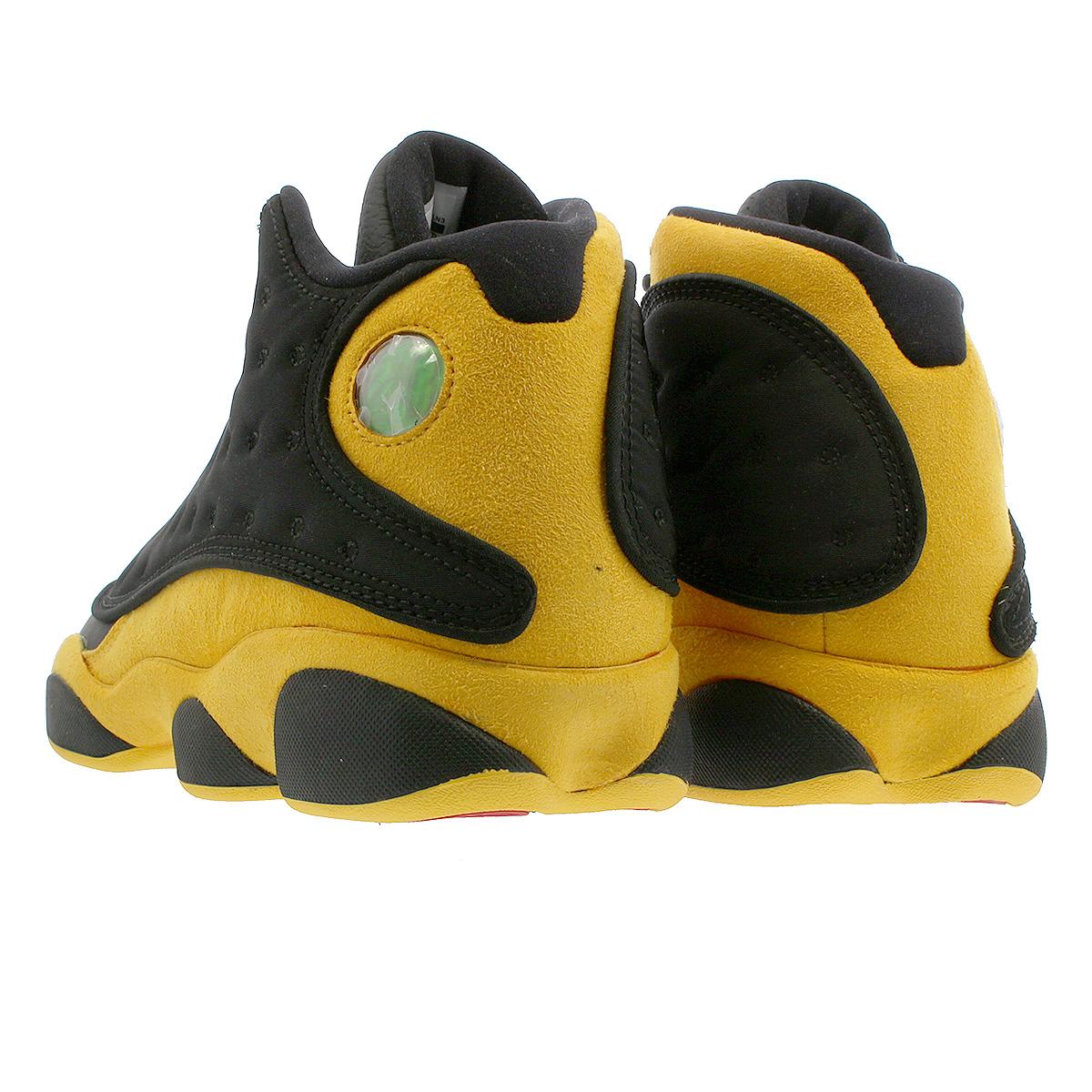 brand new 3202e 94f21 NIKE AIR JORDAN 13 RETRO Nike Air Jordan 13 nostalgic BLACK/UNIVERSITY  RED/UNIVERSITY GOLD 414,571-035