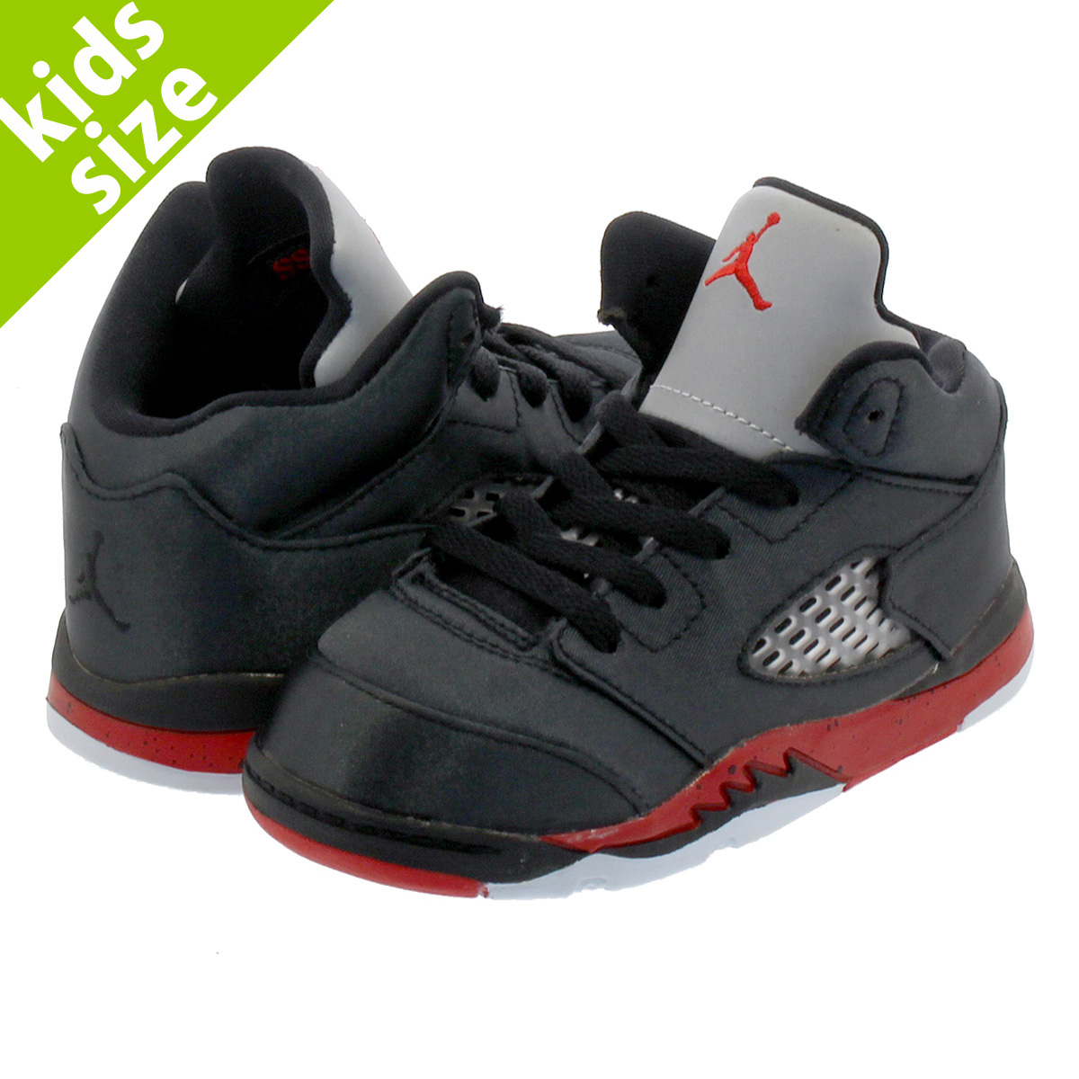 hot sale online dd9bd ab4b4 NIKE AIR JORDAN 5 RETRO BT Nike Air Jordan 5 nostalgic BT BLACK/UNIVERSITY  RED 440,890-006