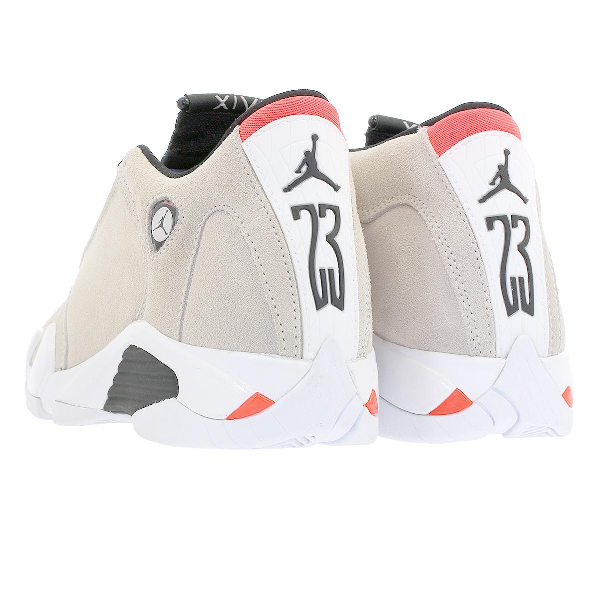 hot sale online dea63 3b3b5 NIKE AIR JORDAN 14 RETRO BG Nike Air Jordan 14 nostalgic BG DESERT  SAND/BLACK/WHITE/INFRARED 23 487,524-021