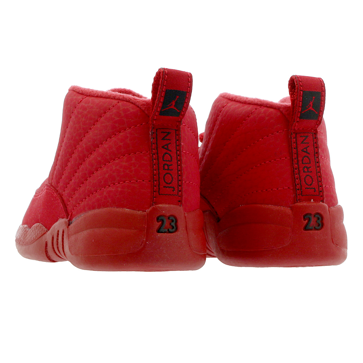 huge discount f2cd2 f0594 NIKE AIR JORDAN 12 RETRO TD Nike Air Jordan 12 nostalgic TD GYM  RED/BLACK/BLACK 850,000-601