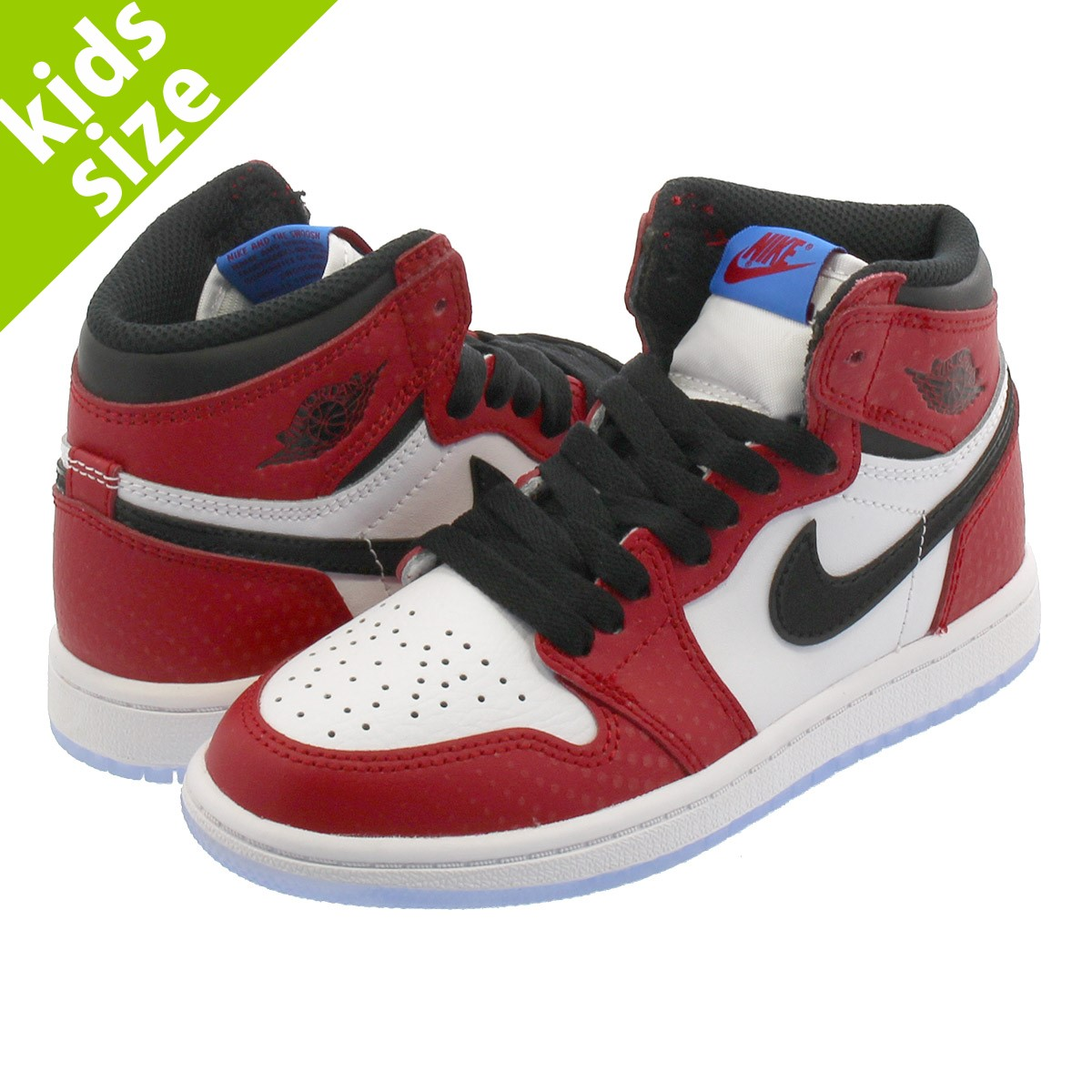 NIKE AIR JORDAN 1 RETRO HIGH OG BP Nike Air Jordan 1 nostalgic high OG BP  GYM RED/WHITE/PHOTO BLUE/BLACK