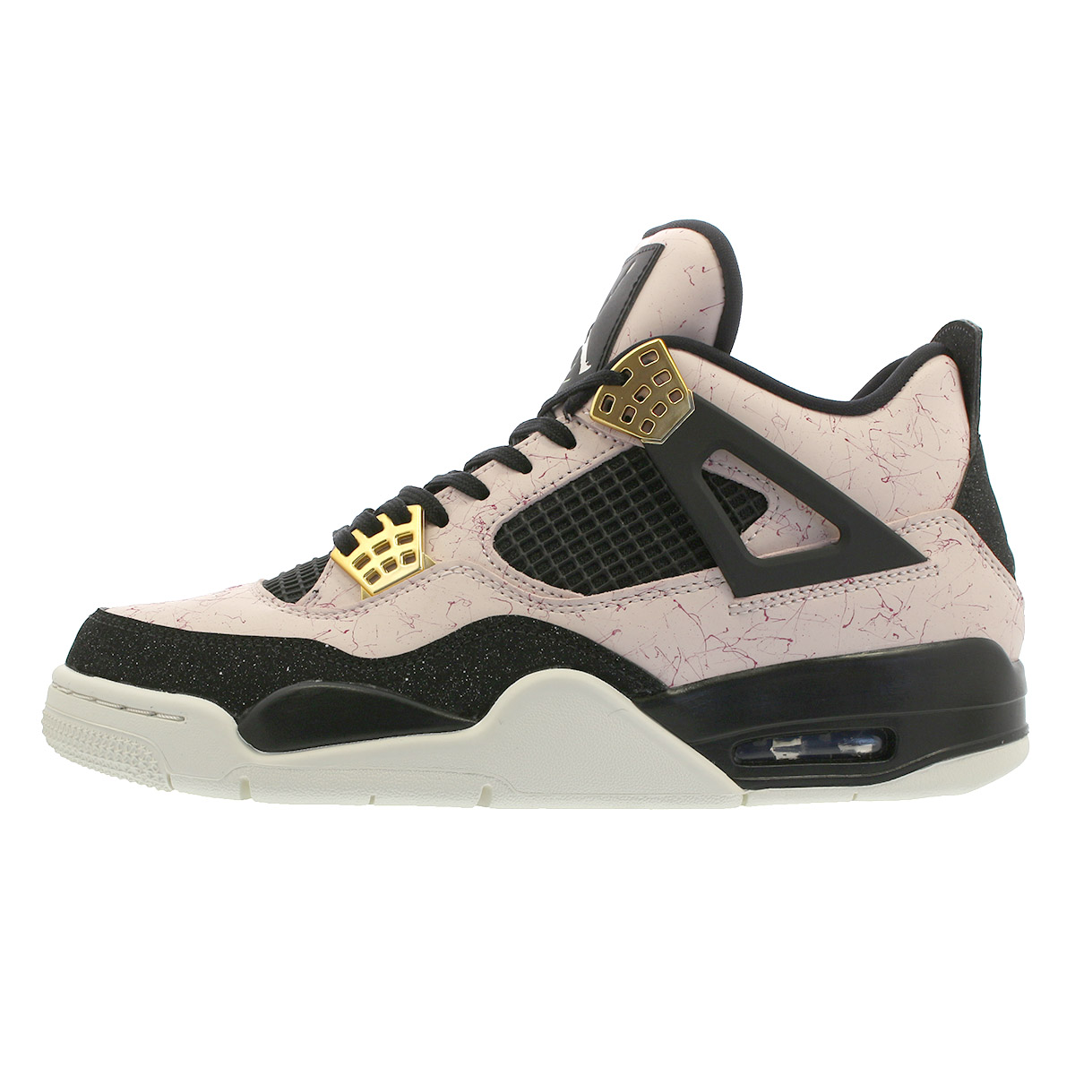 info for 3fd65 c75b6 NIKE WMNS AIR JORDAN 4 RETRO Nike women Air Jordan 4 nostalgic SILT  RED/BLACK/PHANTOM/VOLT aq9129-601