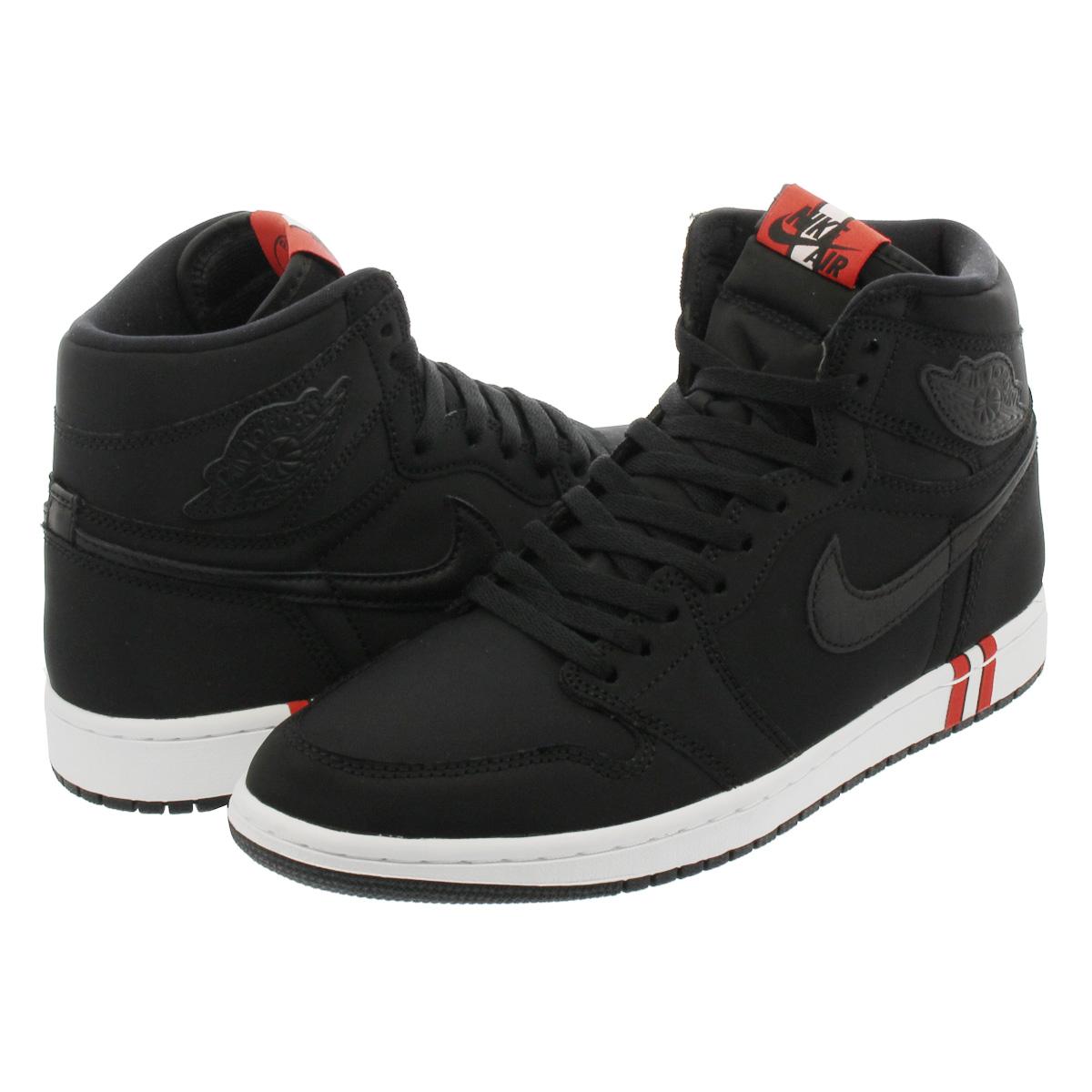 best sneakers 72c3c cfdcd NIKE AIR JORDAN 1 RETRO HIGH OG BCFC Nike Air Jordan 1 nostalgic high OG  BLACK WHITE CHALLENGE RED ar3254-001
