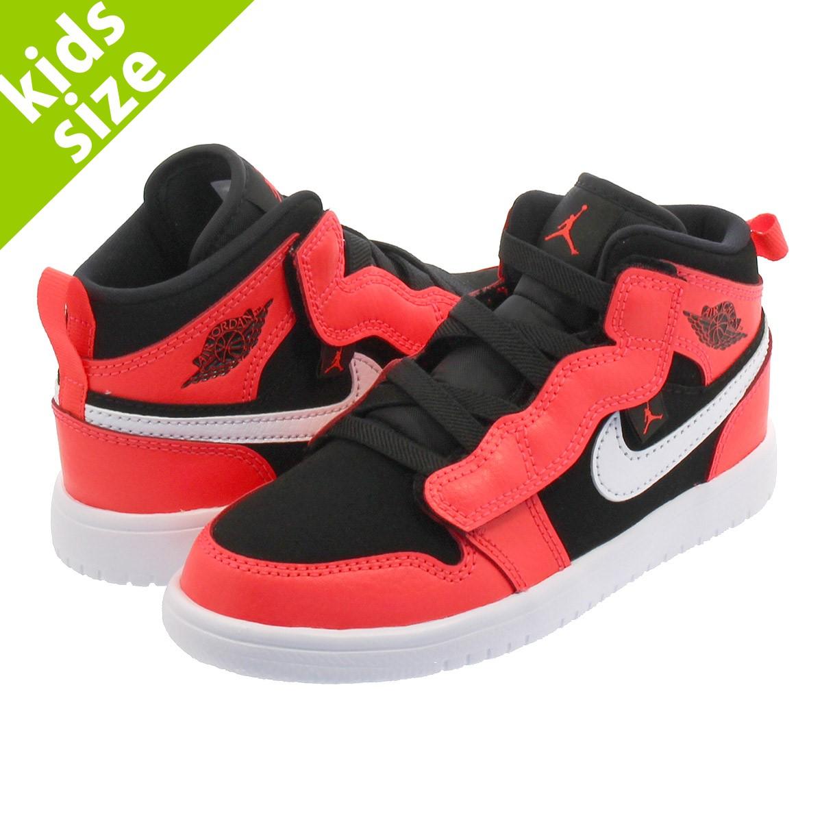 low priced 433da 6ea48 NIKE AIR JORDAN 1 MID ALT PS Nike Air Jordan 1 mid ALT PS BLACK  ...
