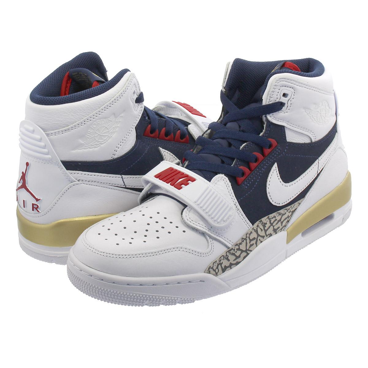 06a422e7b242 NIKE AIR JORDAN LEGACY 312 Nike Air Jordan Legacy 312 WHITE MIDNIGHT  NAVY VARSITY RED av3922-101