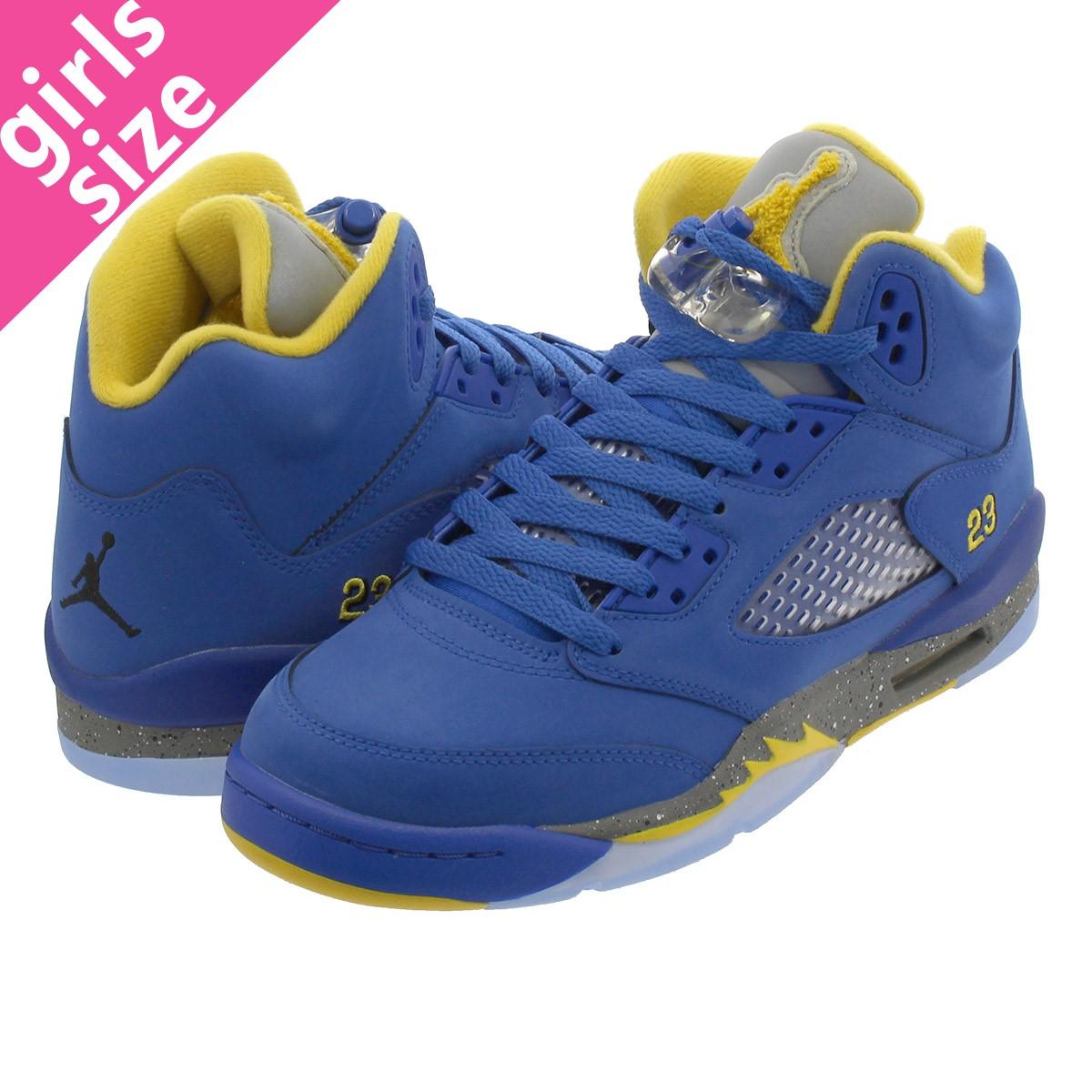 on sale 61f20 8e62a NIKE AIR JORDAN 5 RETRO GS Nike Air Jordan 5 nostalgic GS VARSITY ROYAL VARSITY  MAIZE ci3287-400