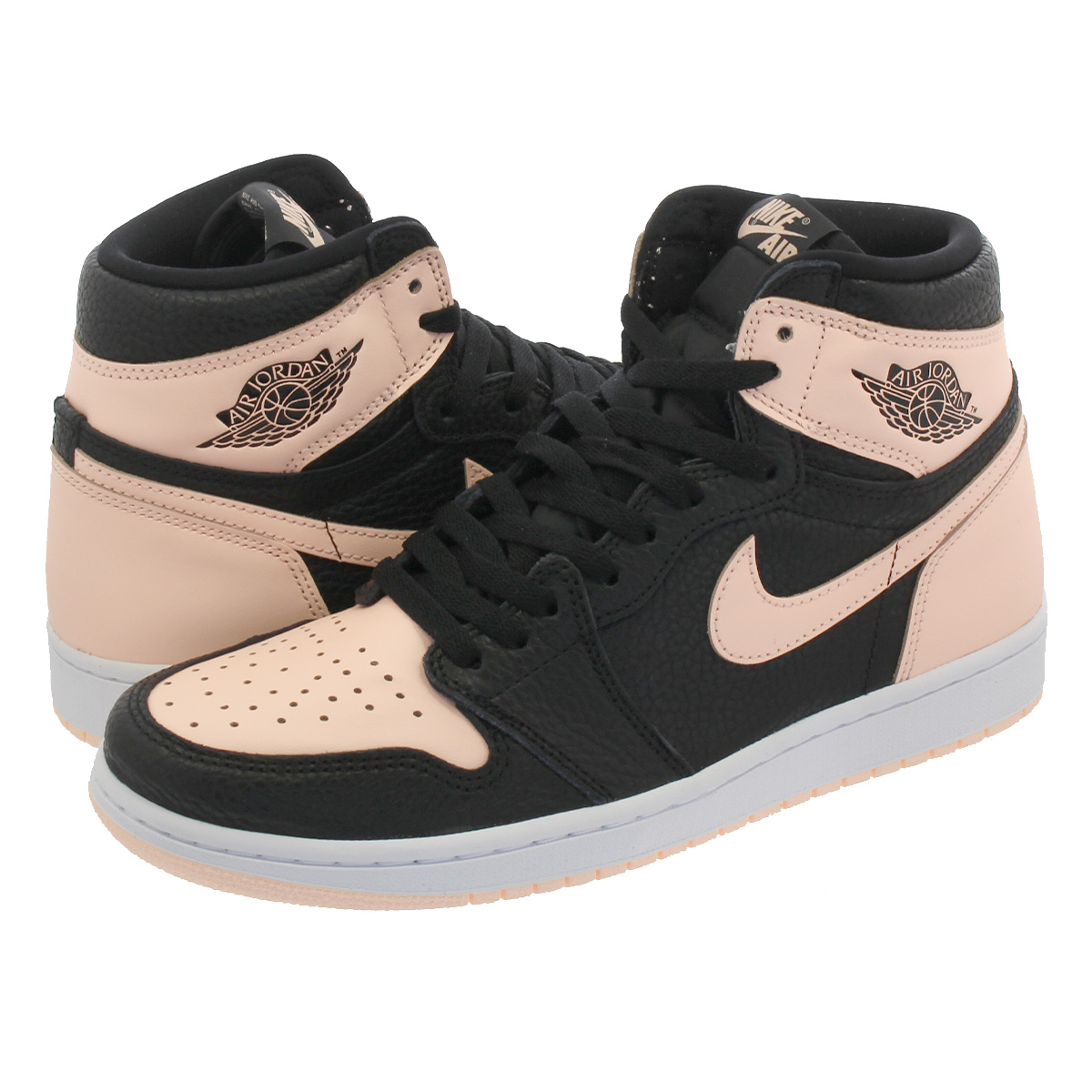 dfadbb8a0f9 NIKE AIR JORDAN 1 RETRO HIGH OG Nike Air Jordan 1 nostalgic high OG BLACK/  ...