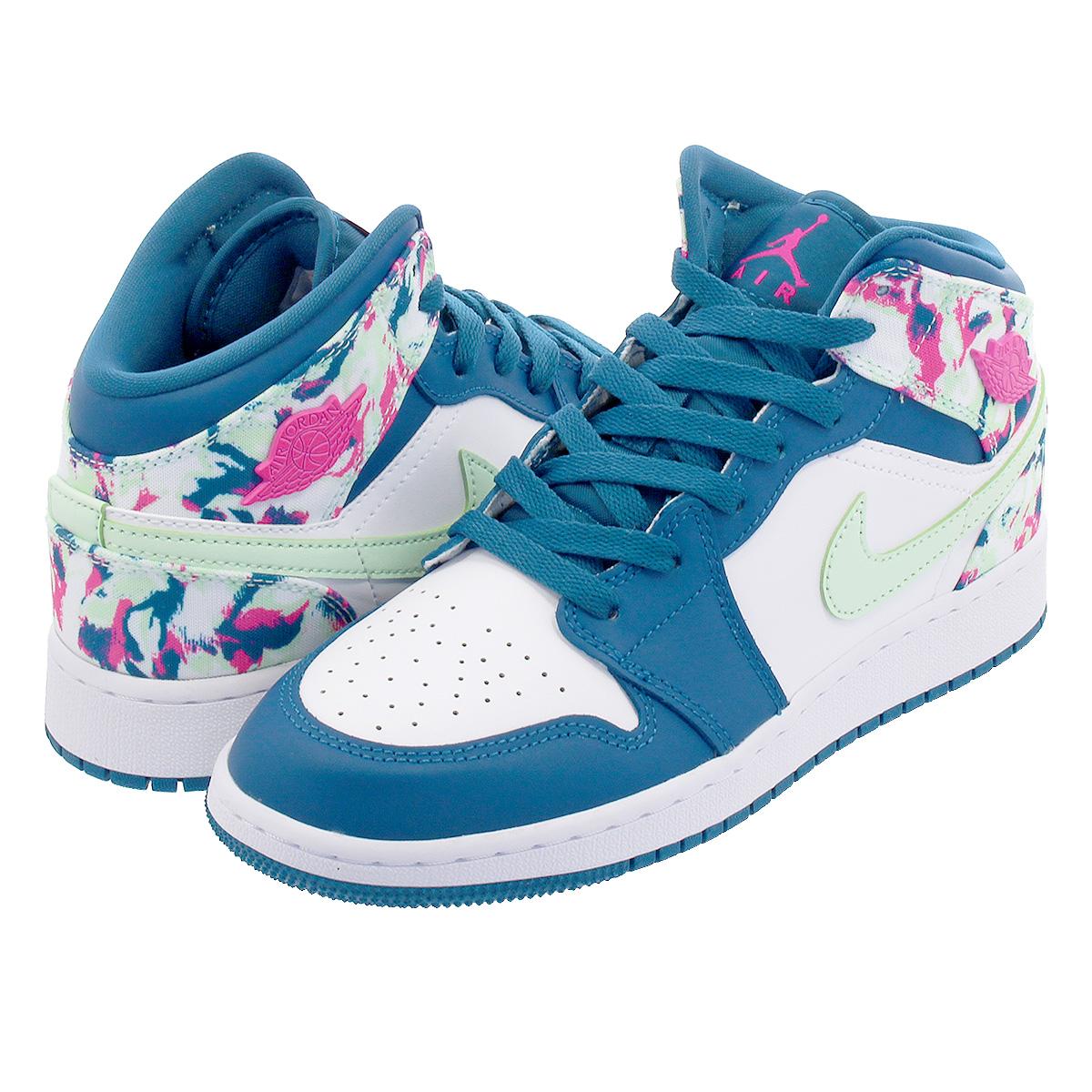 04112d1f9cddc0 LOWTEX BIG-SMALL SHOP  NIKE AIR JORDAN 1 MID GS Nike Air Jordan 1 ...