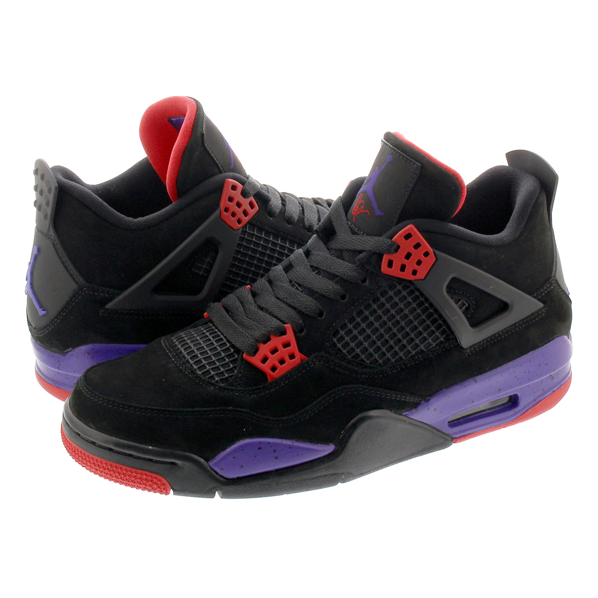 separation shoes 9fbb4 c6b5a NIKE AIR JORDAN 4 RETRO Nike Air Jordan 4 nostalgic NRG BLACK/PURPLE/RED  aq3816-065