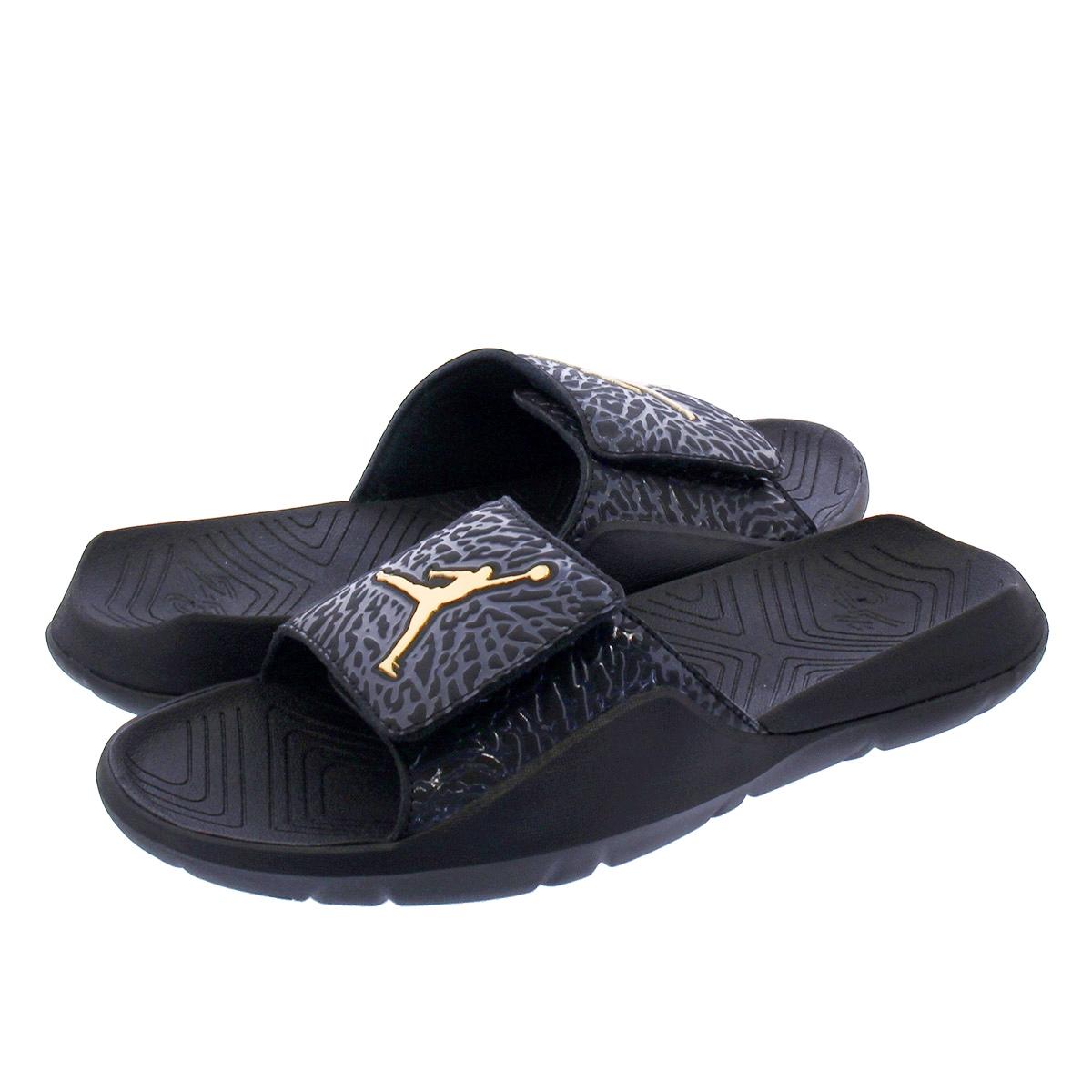 Nike Jordan Hydro 7 V2 Black Metallic Gold BQ6290 007 Men/'s Sz 11 NEW!