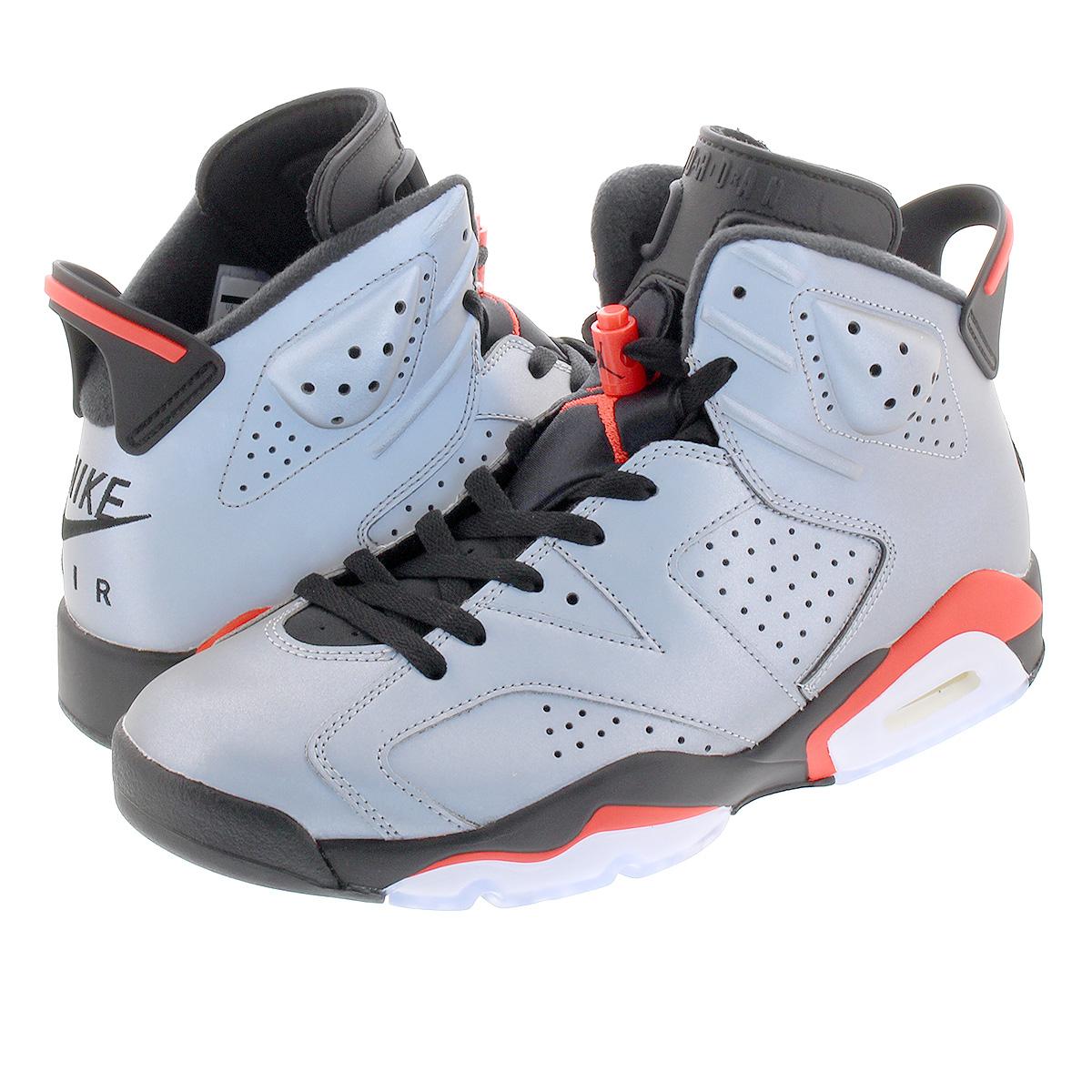 d1fa2cad78e NIKE AIR JORDAN 6 RETRO SP Nike Air Jordan 6 nostalgic SP REFLECT  SILVER/INFRARED ...